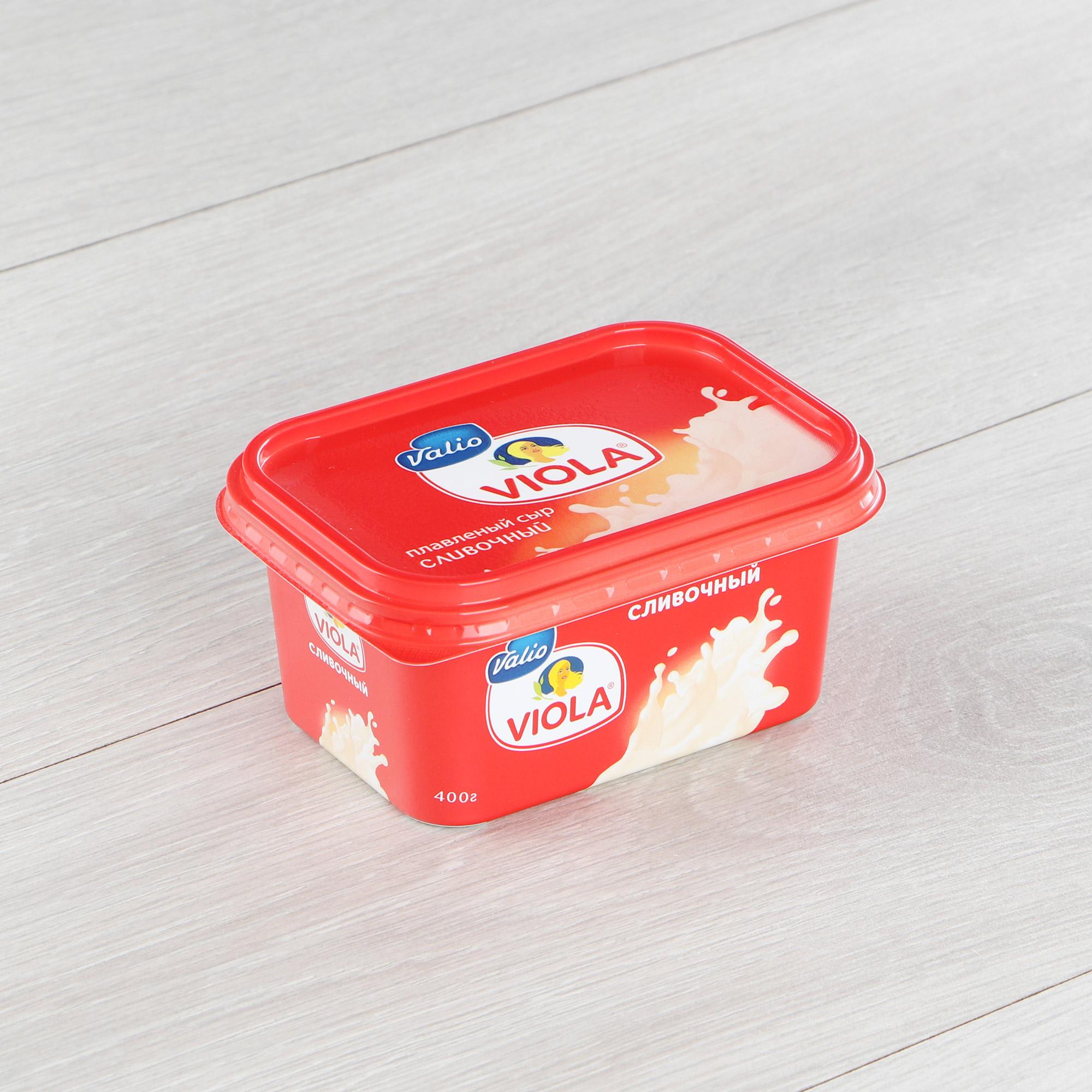 Сыр плавленый Viola Сливочный 60% 400 г недорого