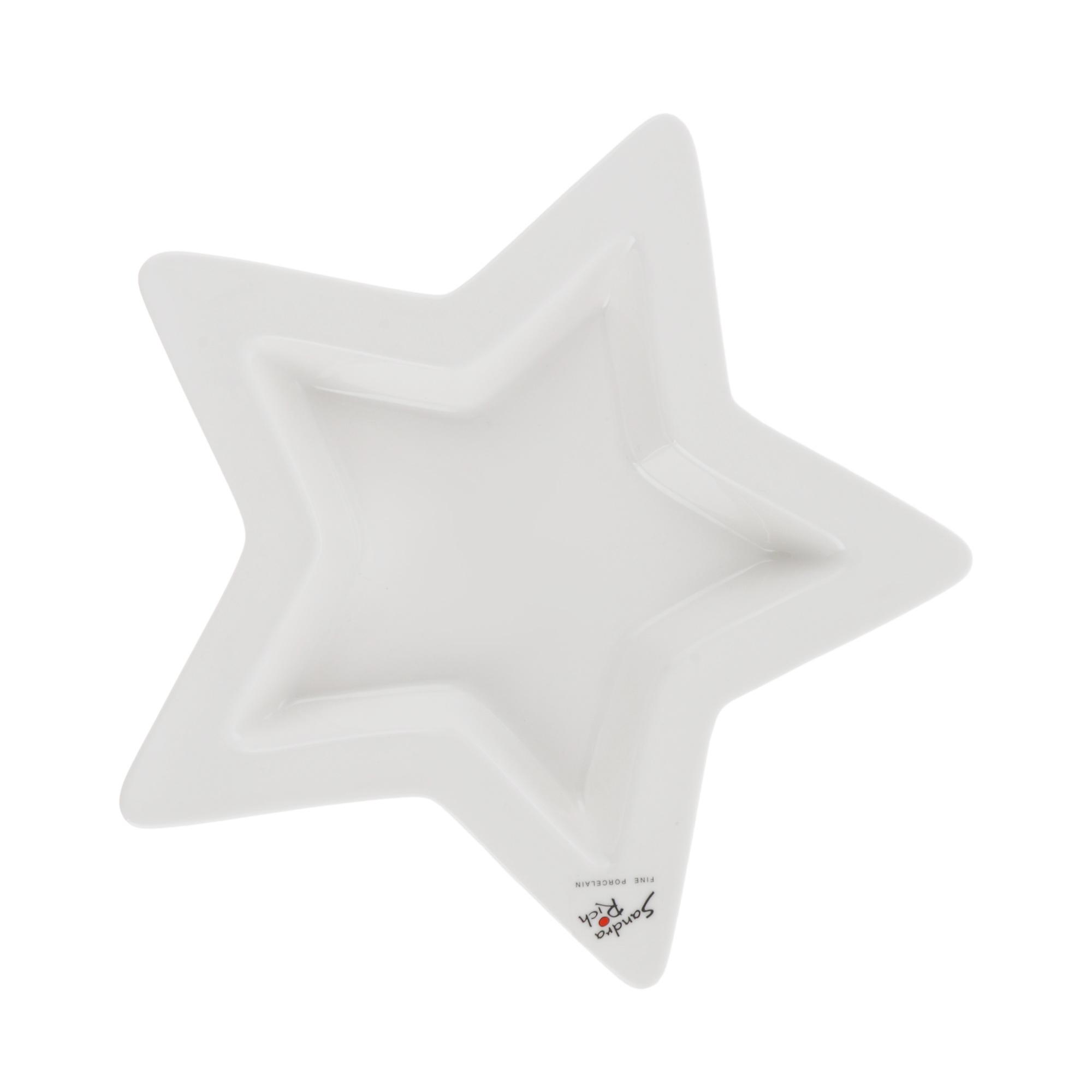 Блюдо Sandra rich star д25см 3.5см блюдо sandra rich star 20x19х4 см