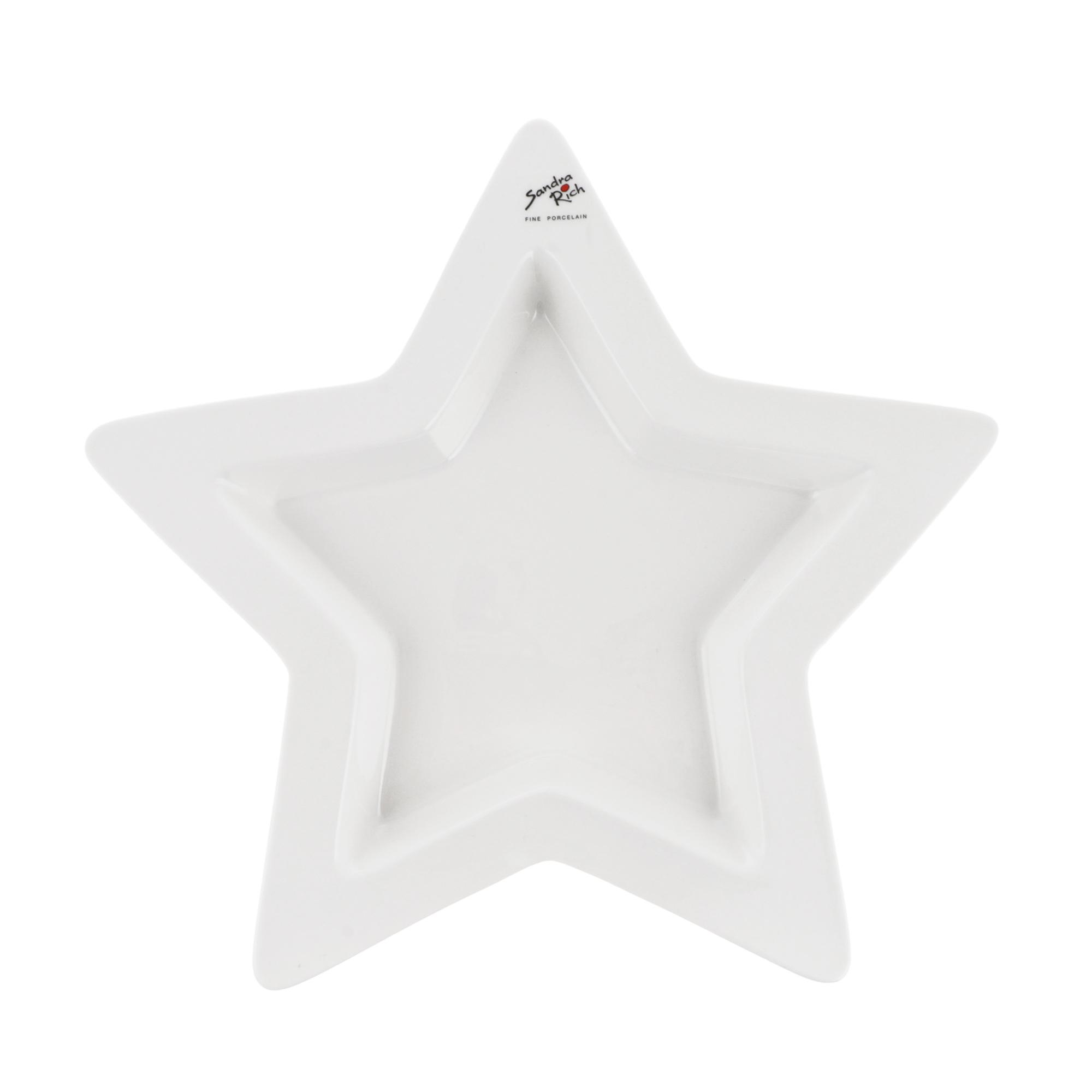 Блюдо Sandra rich star д33см 3.5см блюдо sandra rich star 20x19х4 см