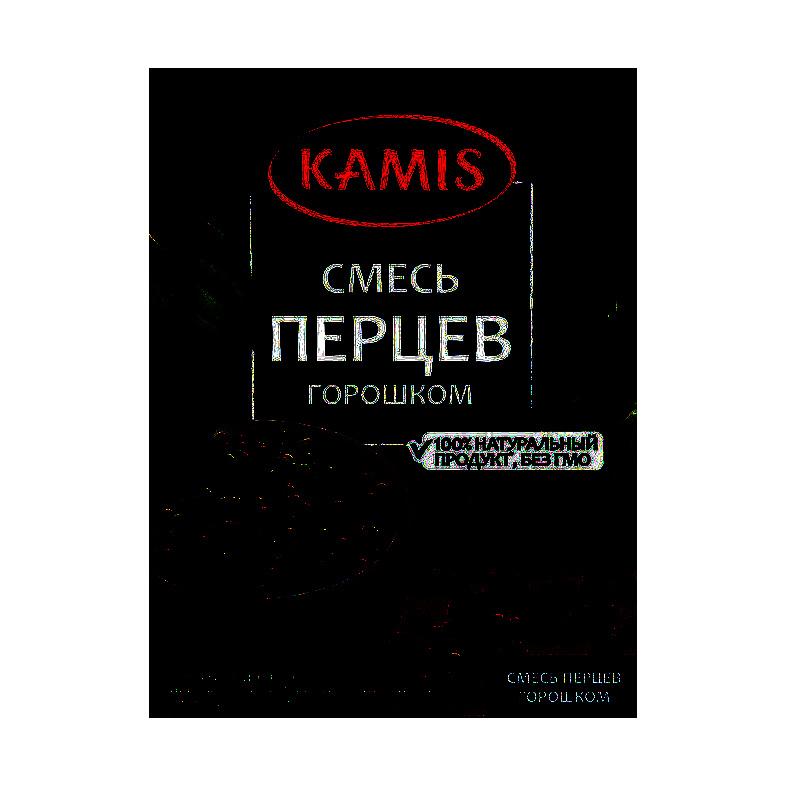 Смесь перцев горошком Kamis 15 г смесь перцев spice master 85 г