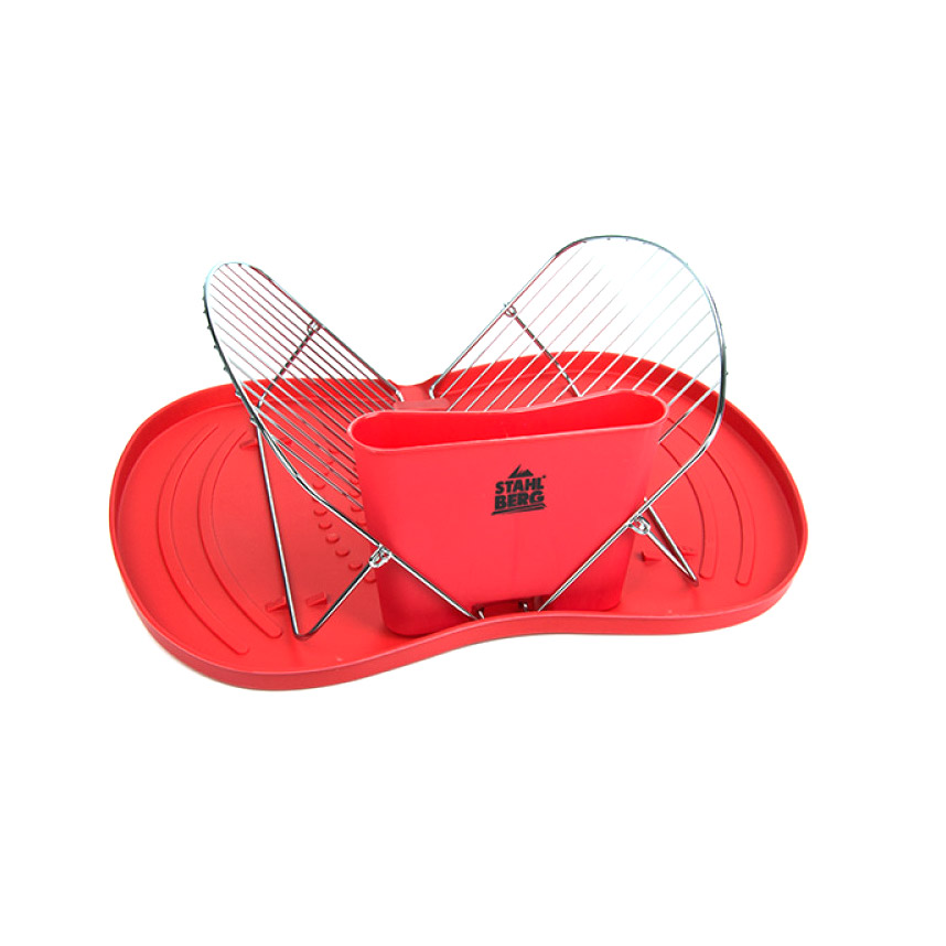 Подставка для сушки тарелок STAHLBERG 5134-S NEPTUNE 45х33,5х12 см подставка для сушки тарелок stahlberg neptune 5134 s