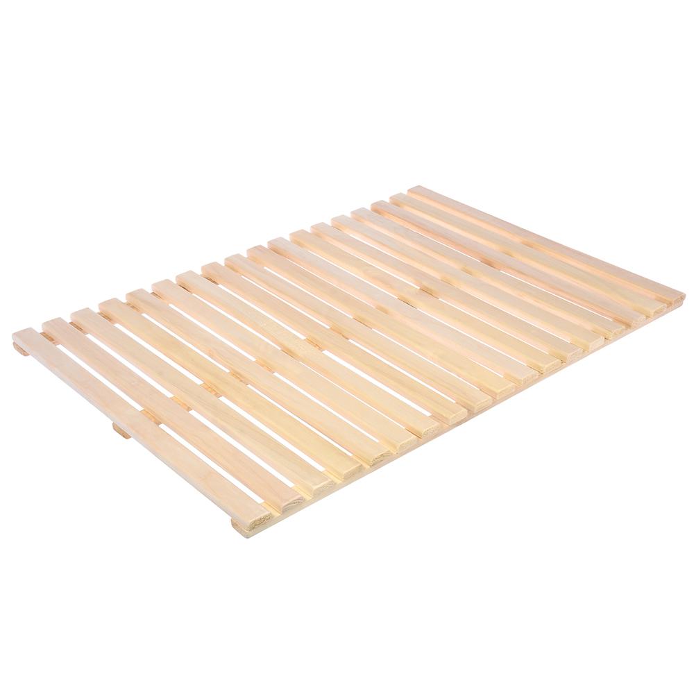 Решетка на пол 70х100 см для бани и сауны (липа)