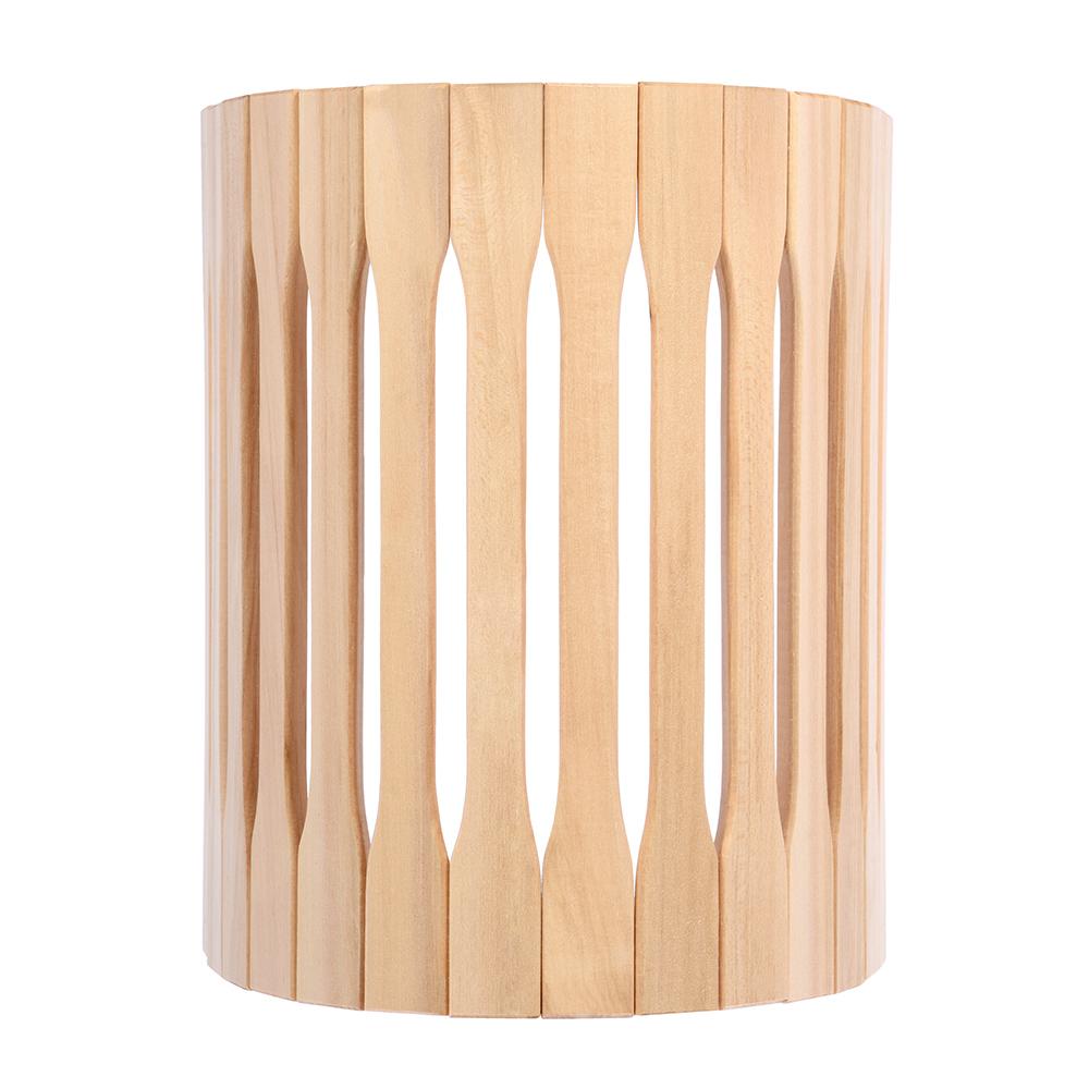 Абажур для светильника, настенный, липа, 25х16х30