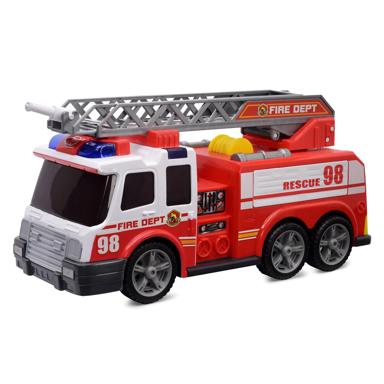 Пожарная машина Dickie с функциями 37 см машина dickie ру пожарная 62 см