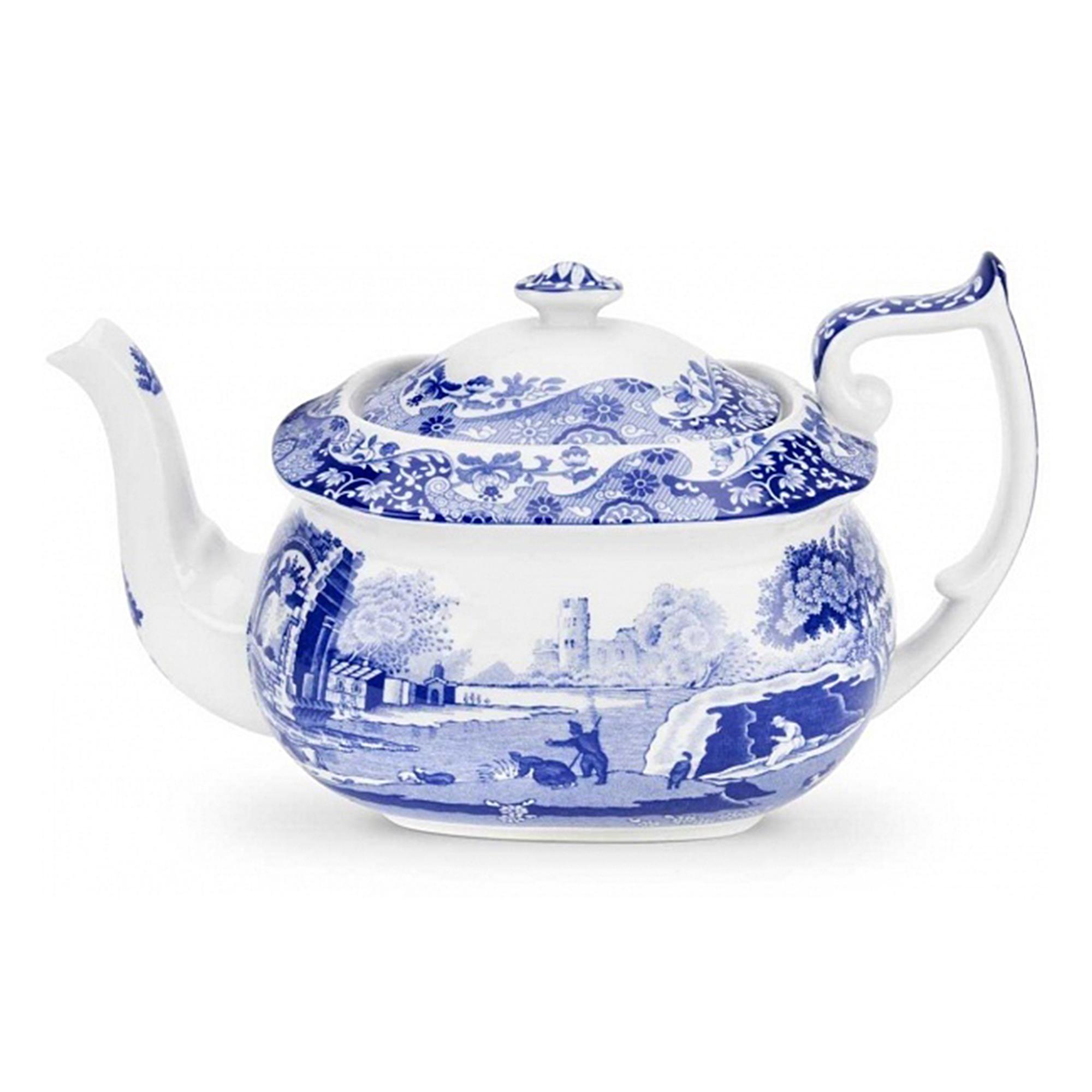 Чайник заварочный Spode Голубая Италия 1,1 л чайник заварочный spode английские охотничьи мотивы 1 3 л