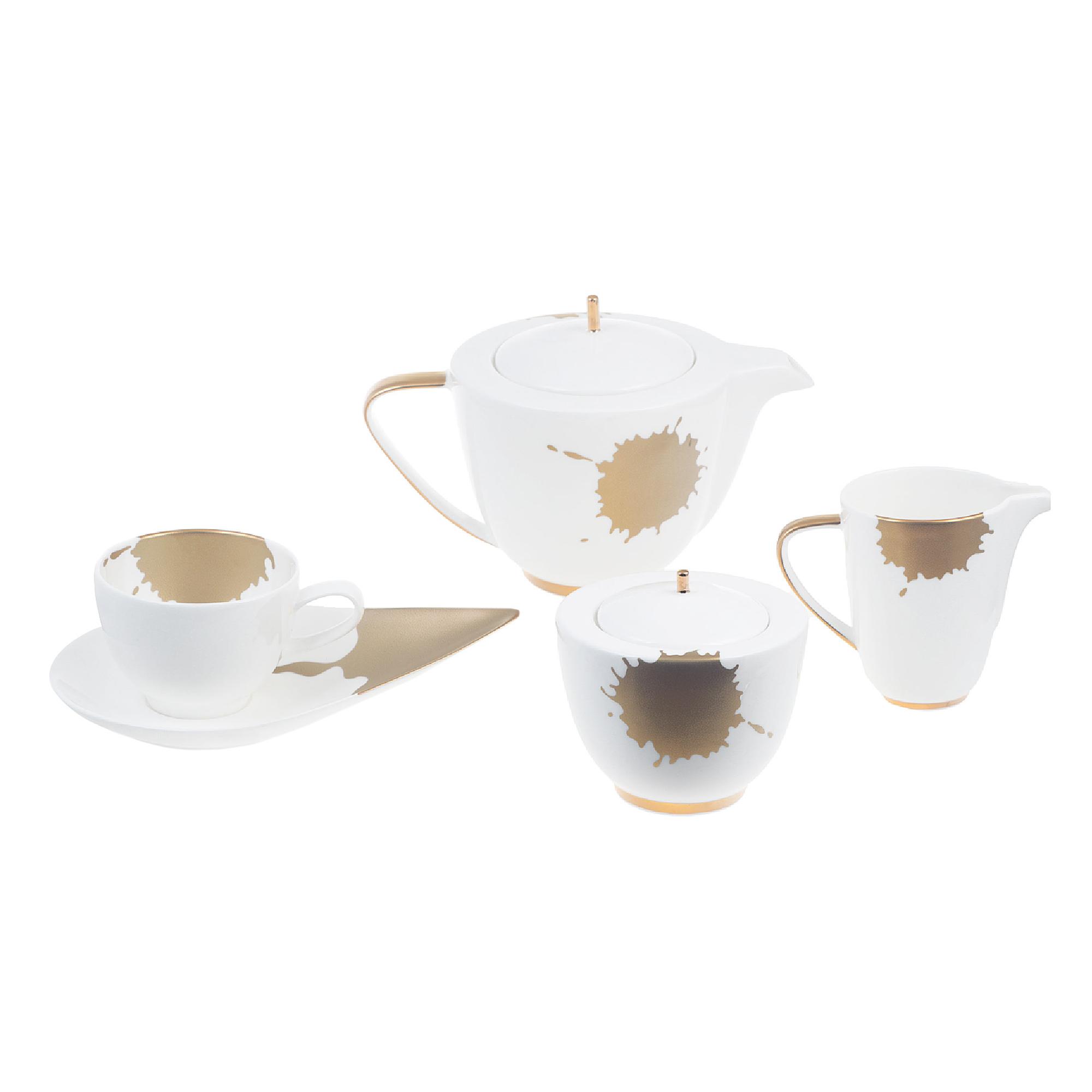Сервиз чайный Hankook/Prouna Сплэш 9 предметов фото