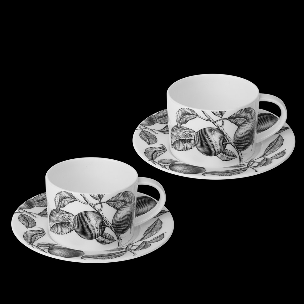 Набор чайный Hankook Олив маркет Слива 2 персоны