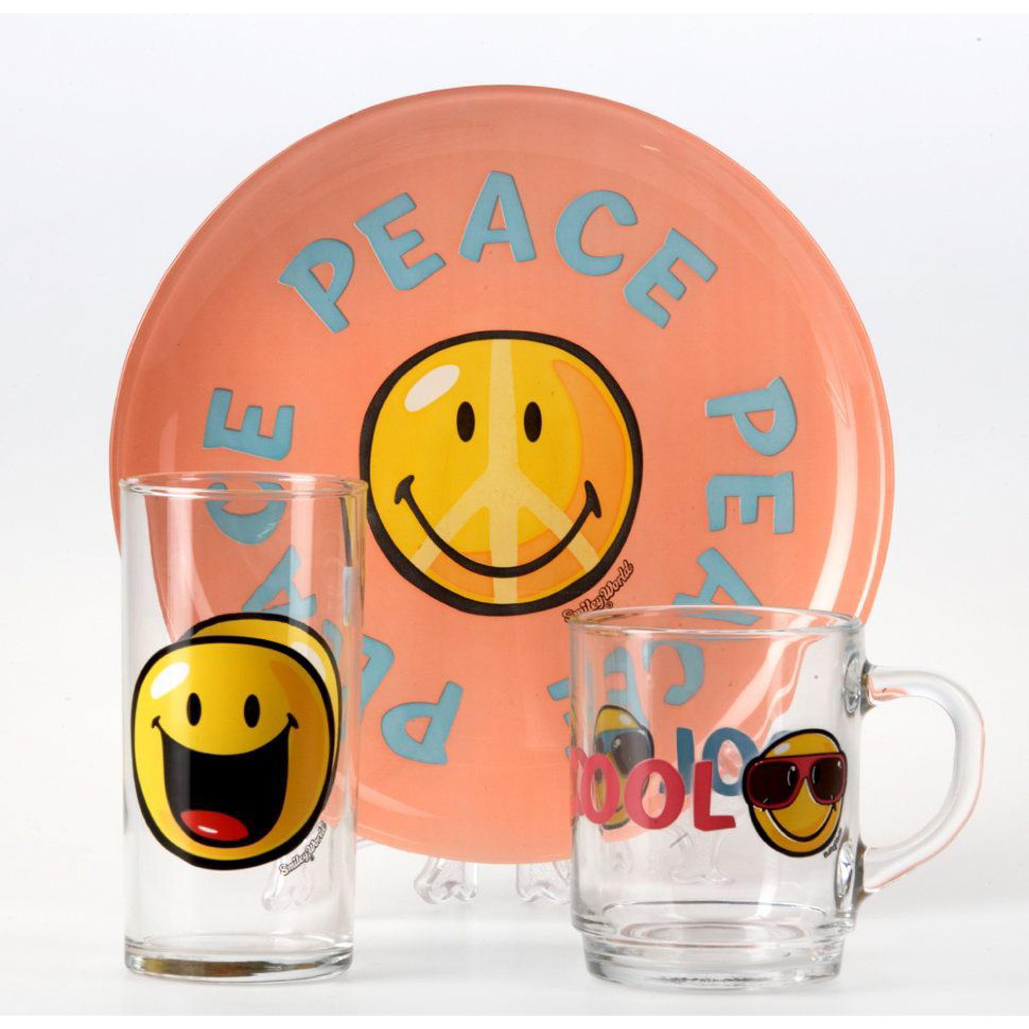 Набор детской посуды Luminarc Smiley фото