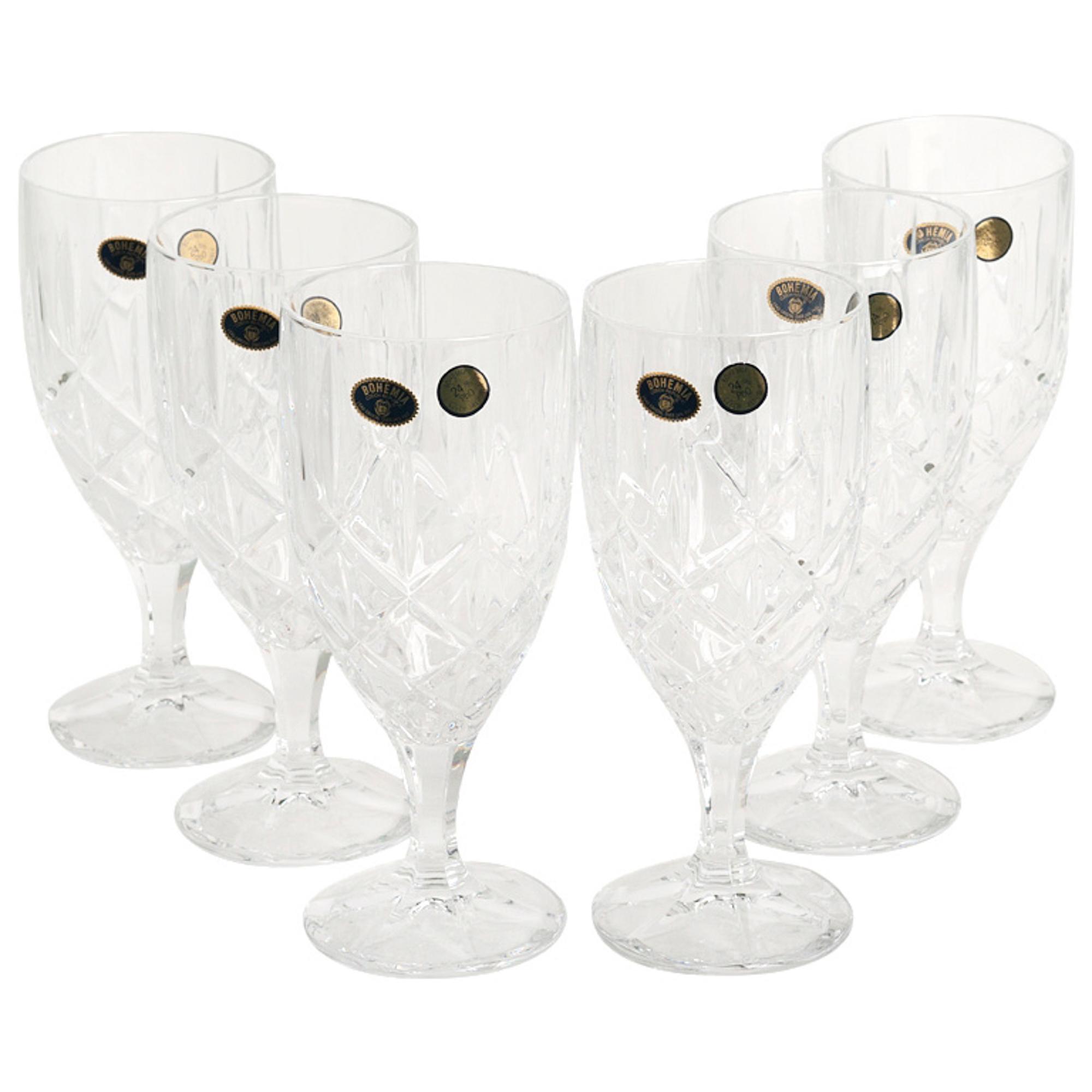 Набор рюмок д/вина sheffield 6х400мл Crystal Bohemia A.S. (990/12860/0/52820/400-609)