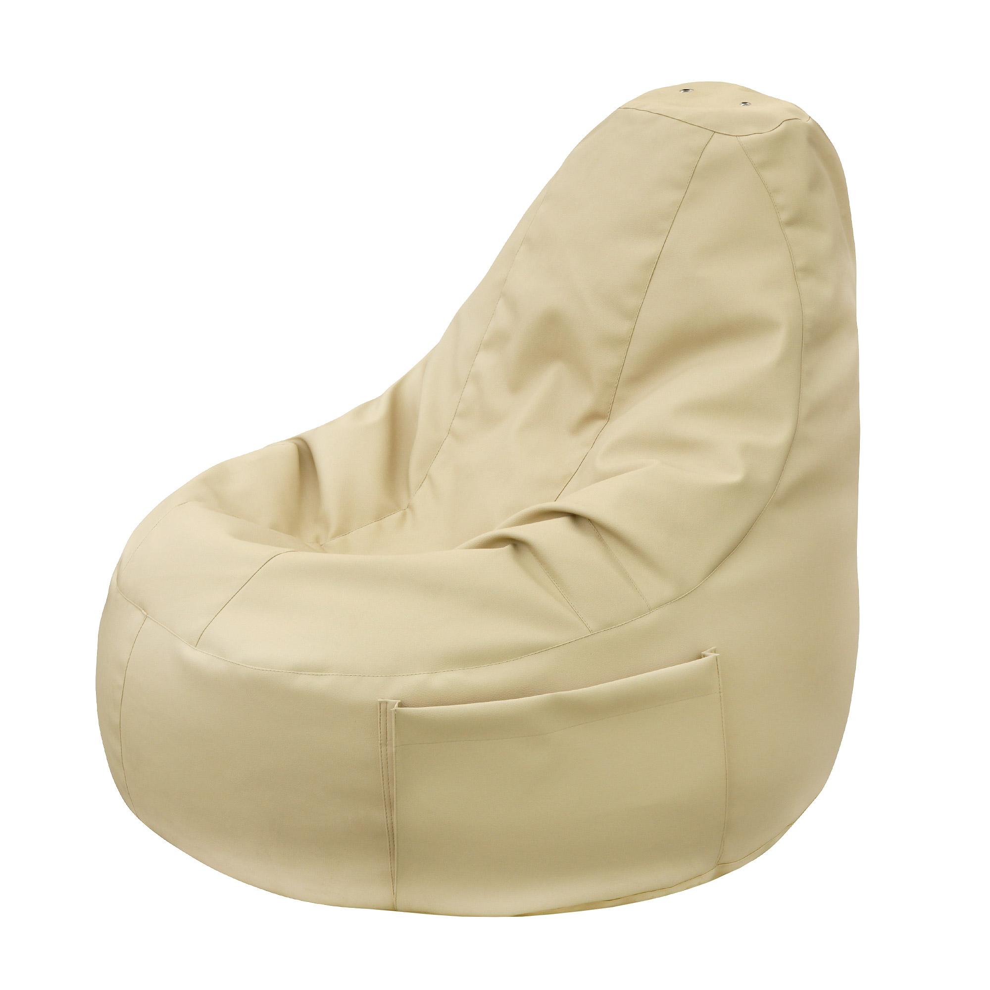 Кресло-мешок Dreambag comfort creme экокожа фото