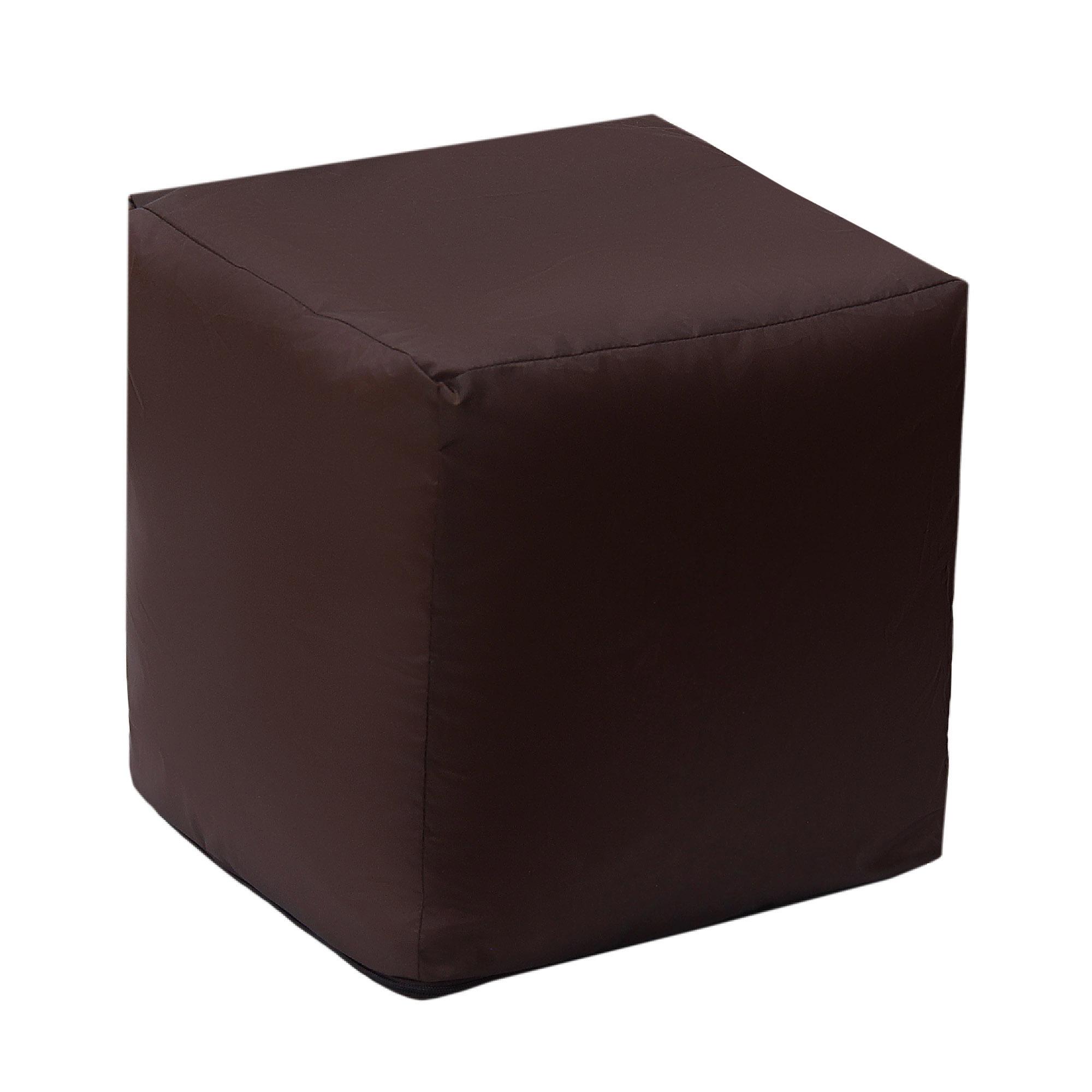Кубик коричневый бескаркасный Dreambag Фьюжн