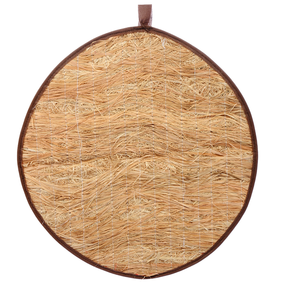 Коврик из лыка круглый 45*45 см