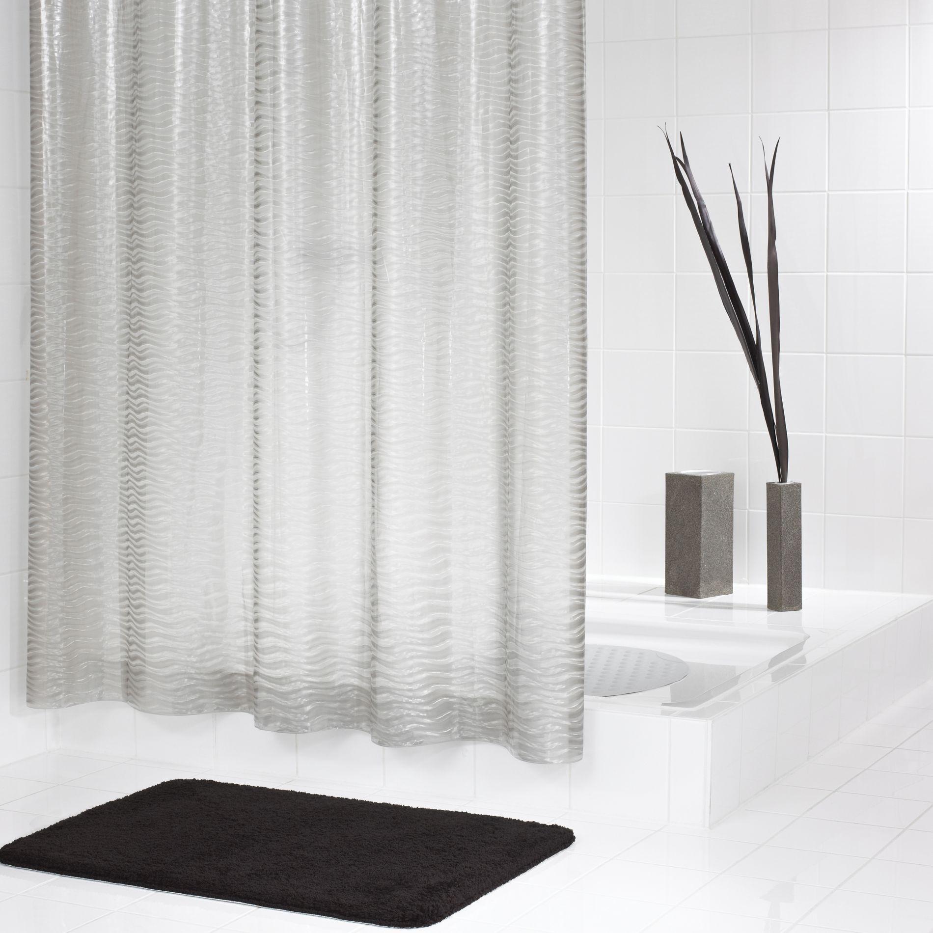 Штора для ванных комнат Silk полупрозрачный 180*200 Ridder для ванных комнат