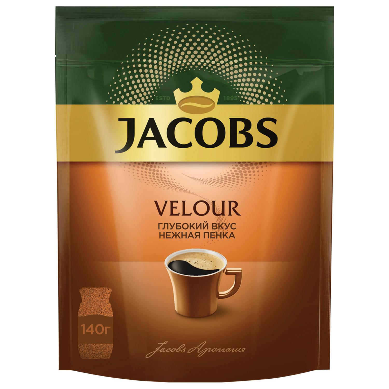 Кофе растворимый Jacobs Velour 140 г