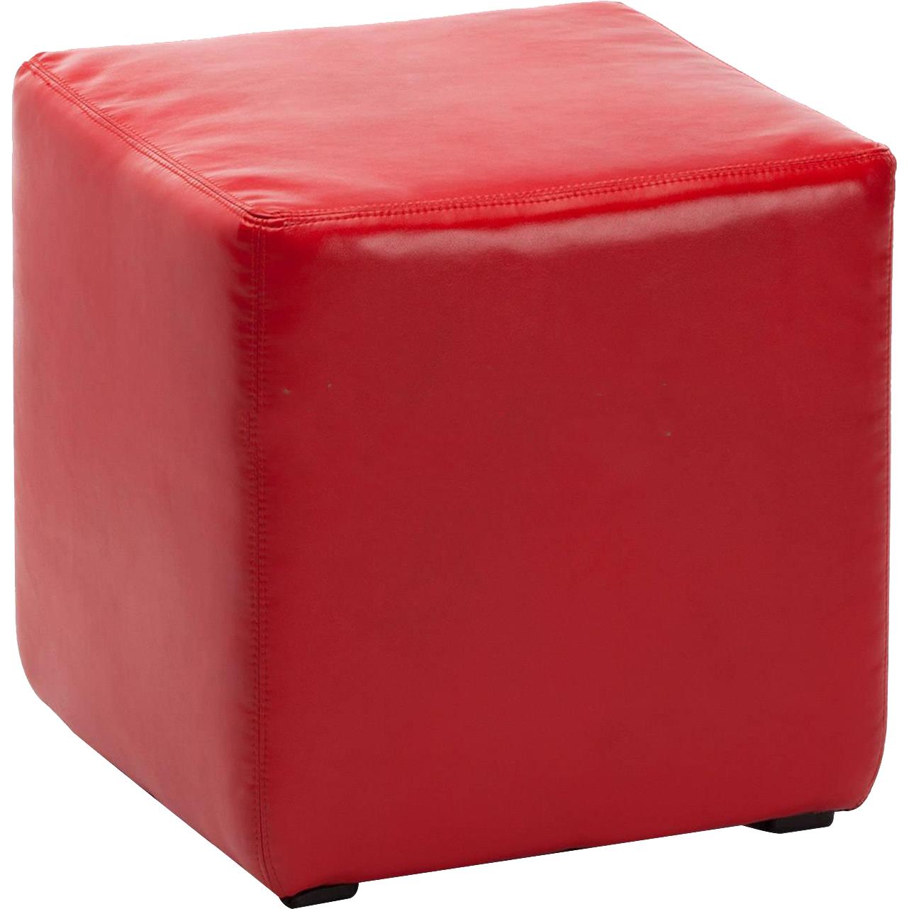 Пуфик Vental пф-4 красный