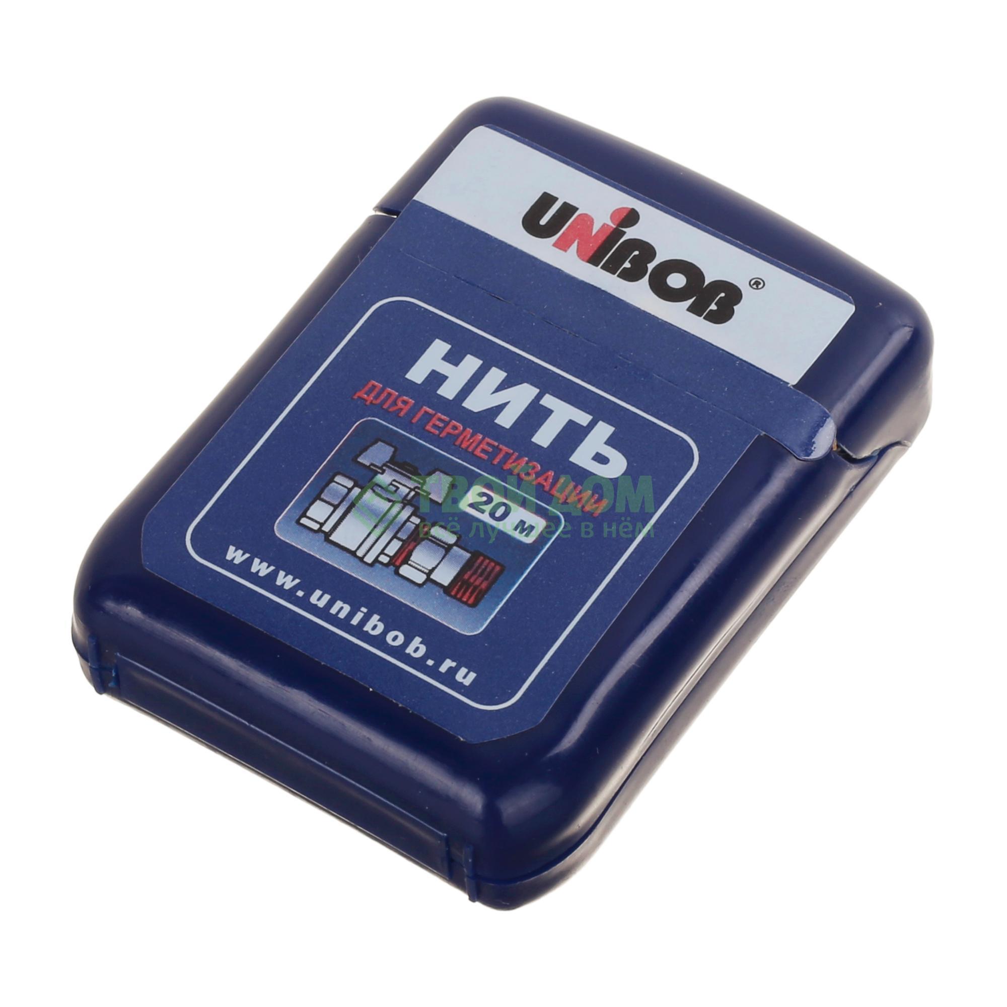 Нить Unibob для герметизации резьбовых соединений 20 м