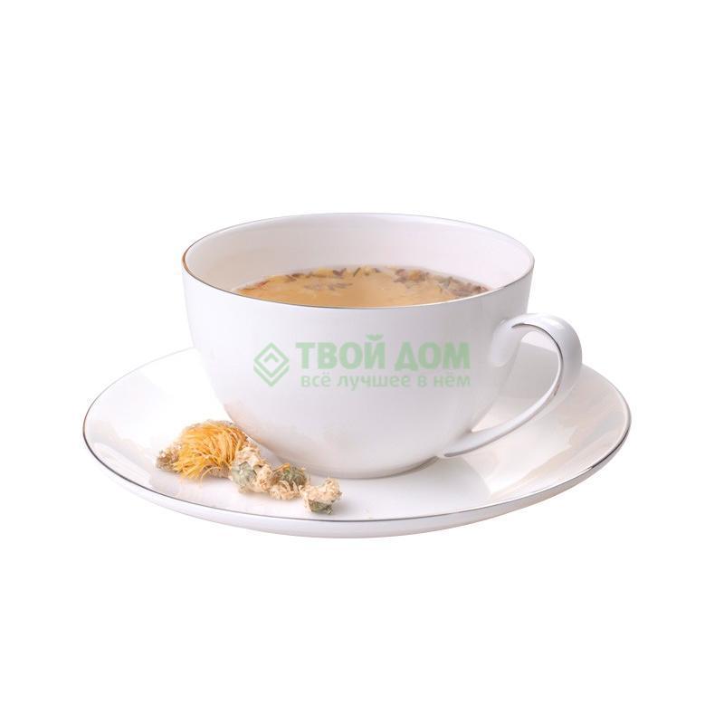Набор посуды Топ арт студио Шер Набор чайных пар 12 предметов, белый (LD1349-TA) фото