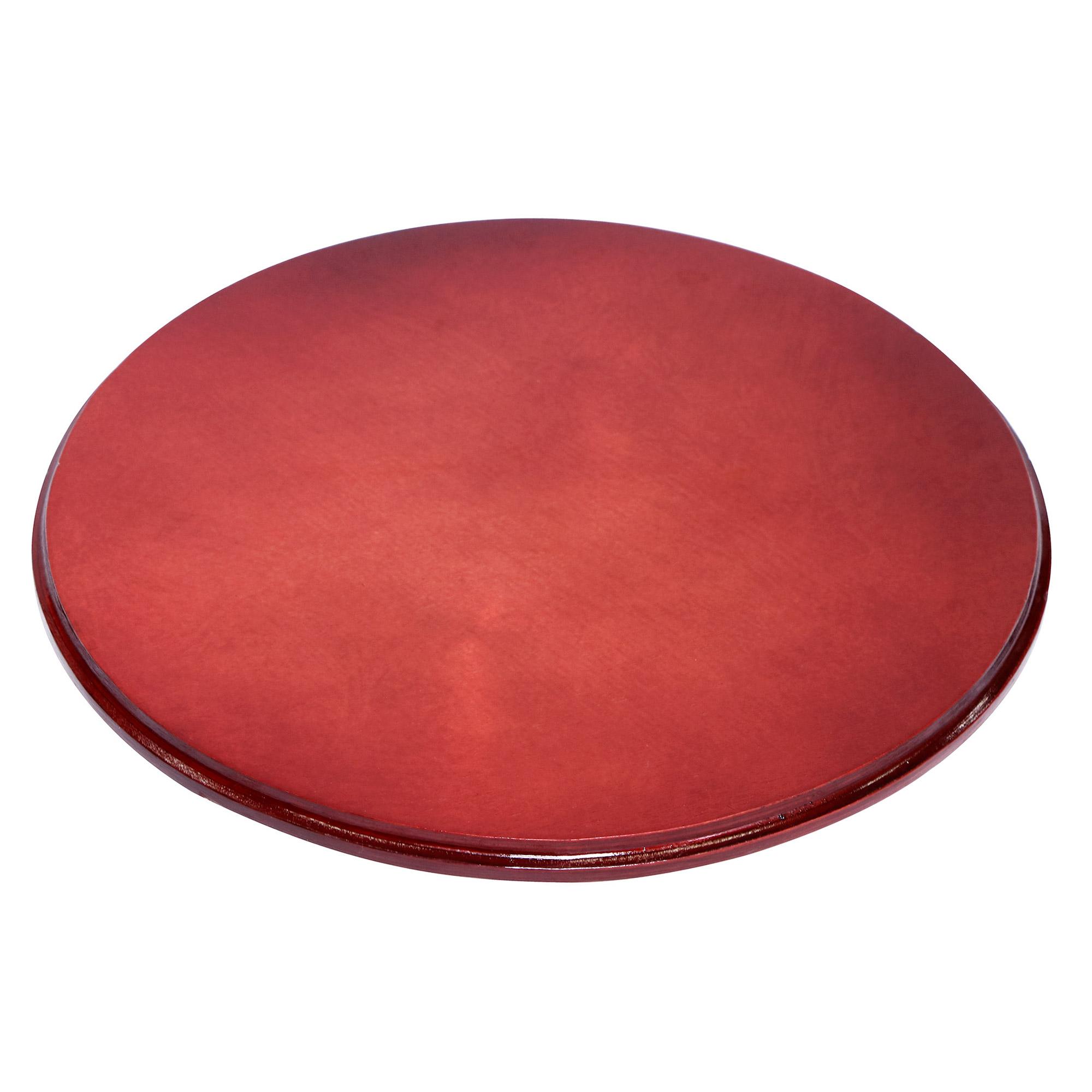 Подставка на роликах красная Элитная керамика