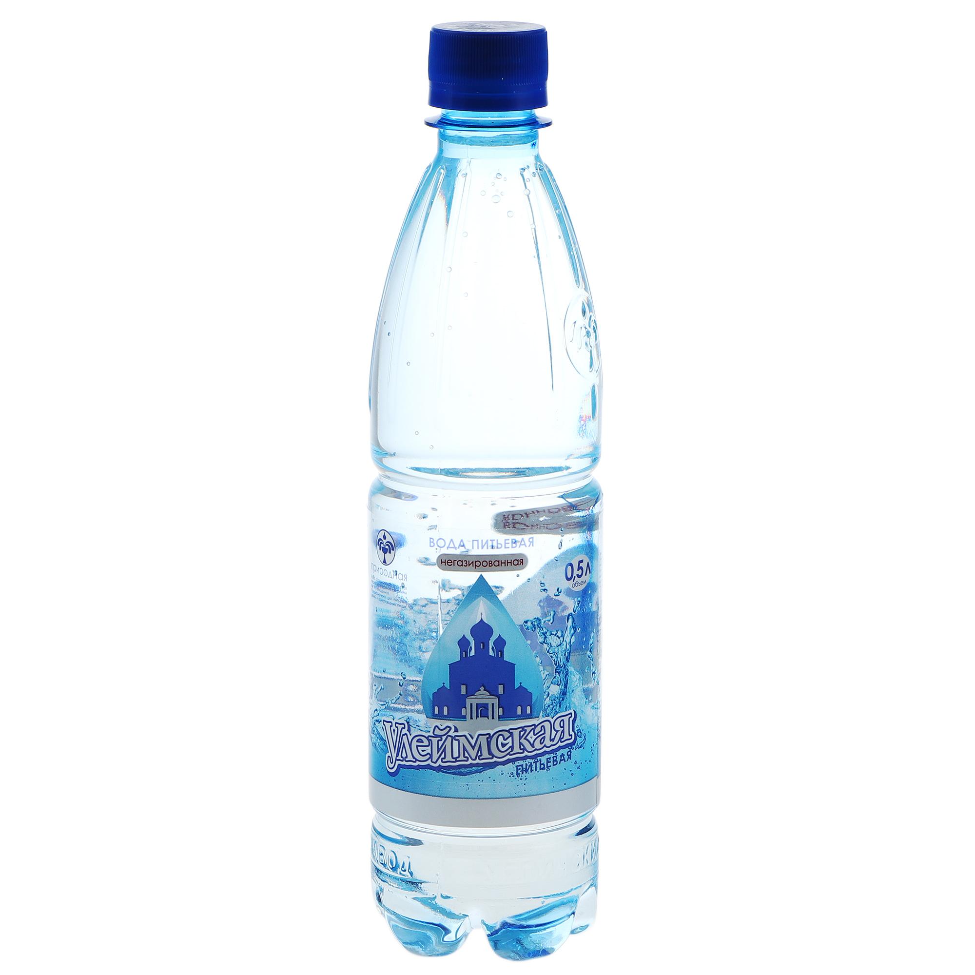 Вода Улеймская Питьевая негазированная 0,5 л фото