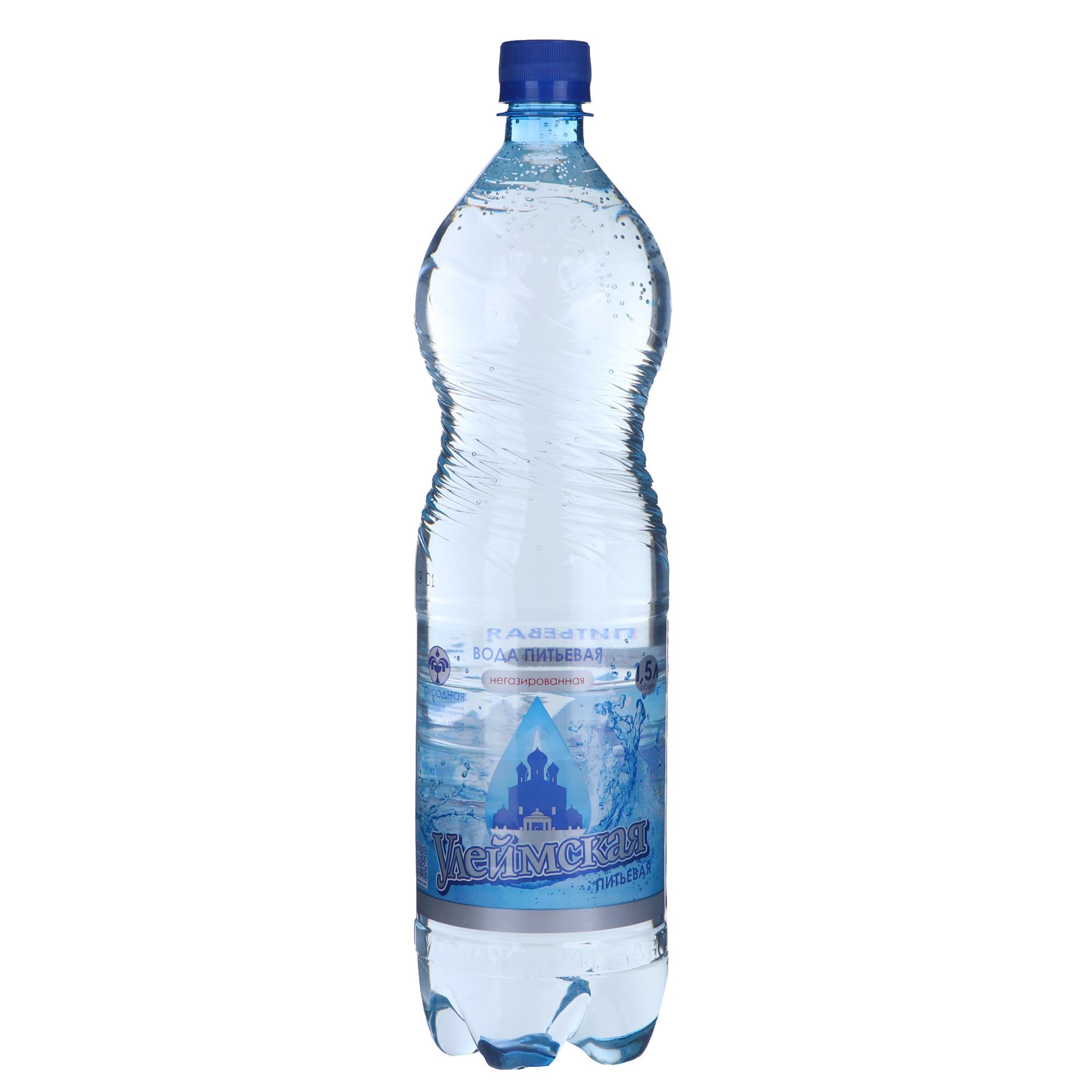 Вода питьевая Улеймская негазированная 1,5 л