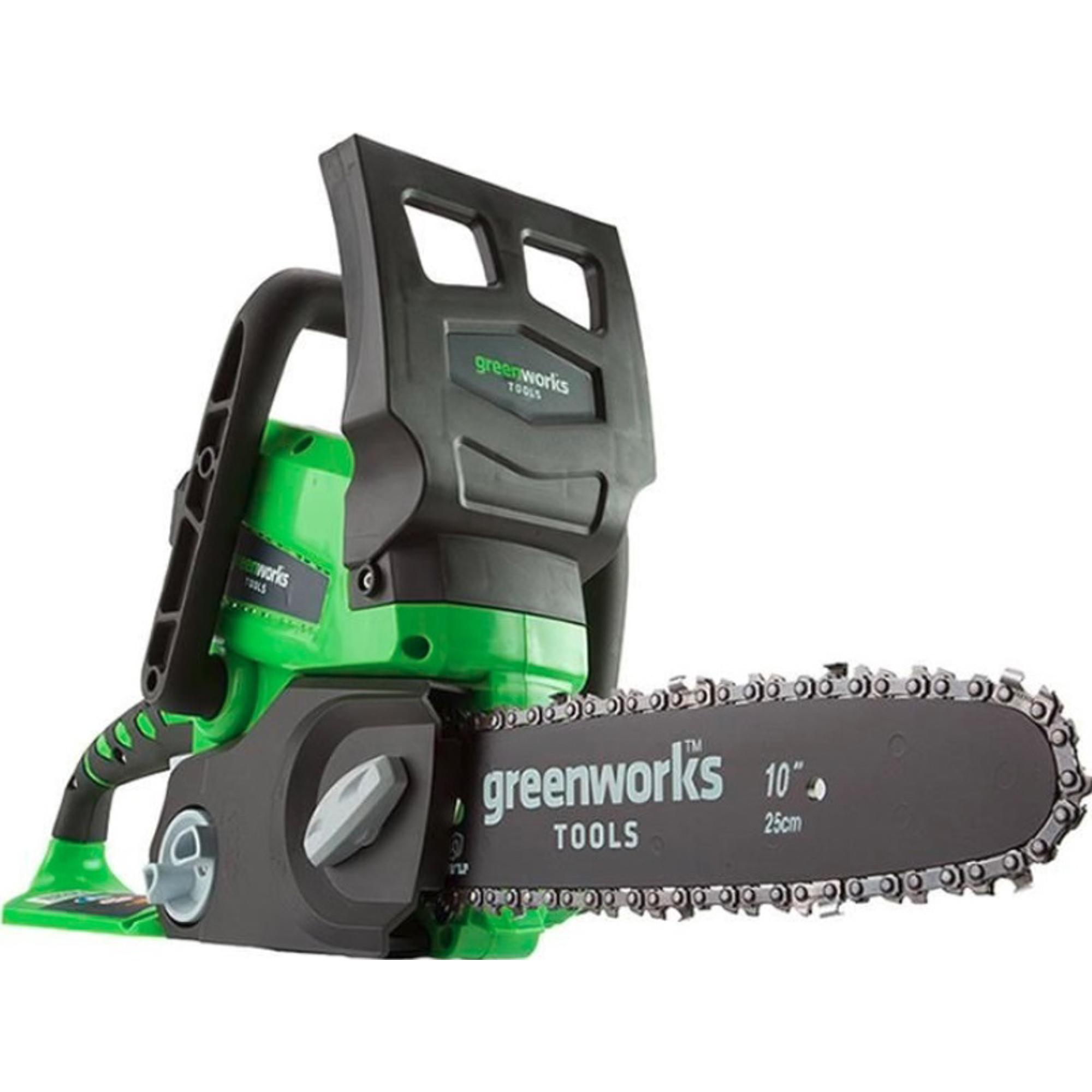 Купить Пила цепная Greenworks G24CS25 2000007 без аккумулятора и ЗУ, Китай