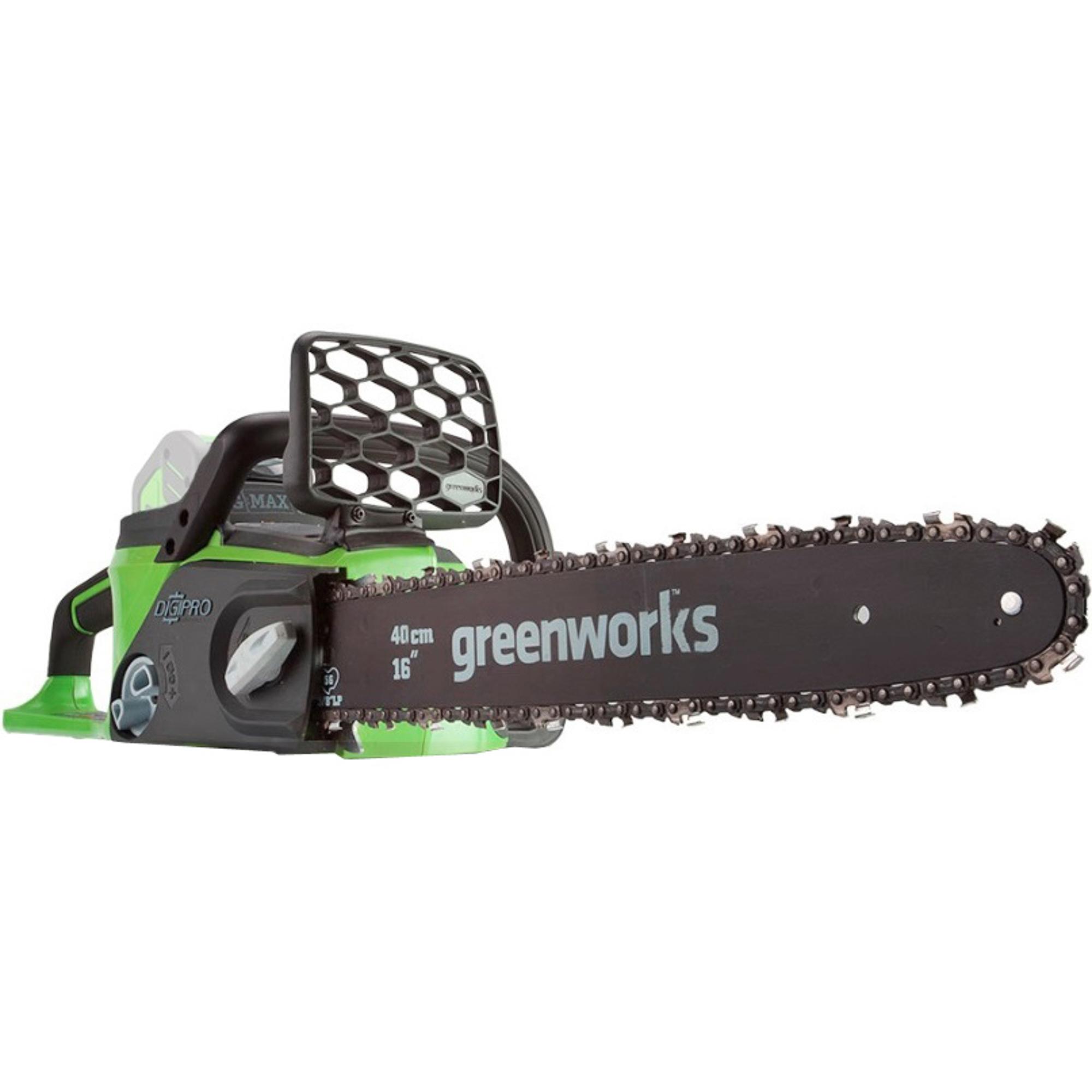 Купить Пила цепная Greenworks DigiPro GD40CS40K2X 20077 без аккумулятора и ЗУ, Китай