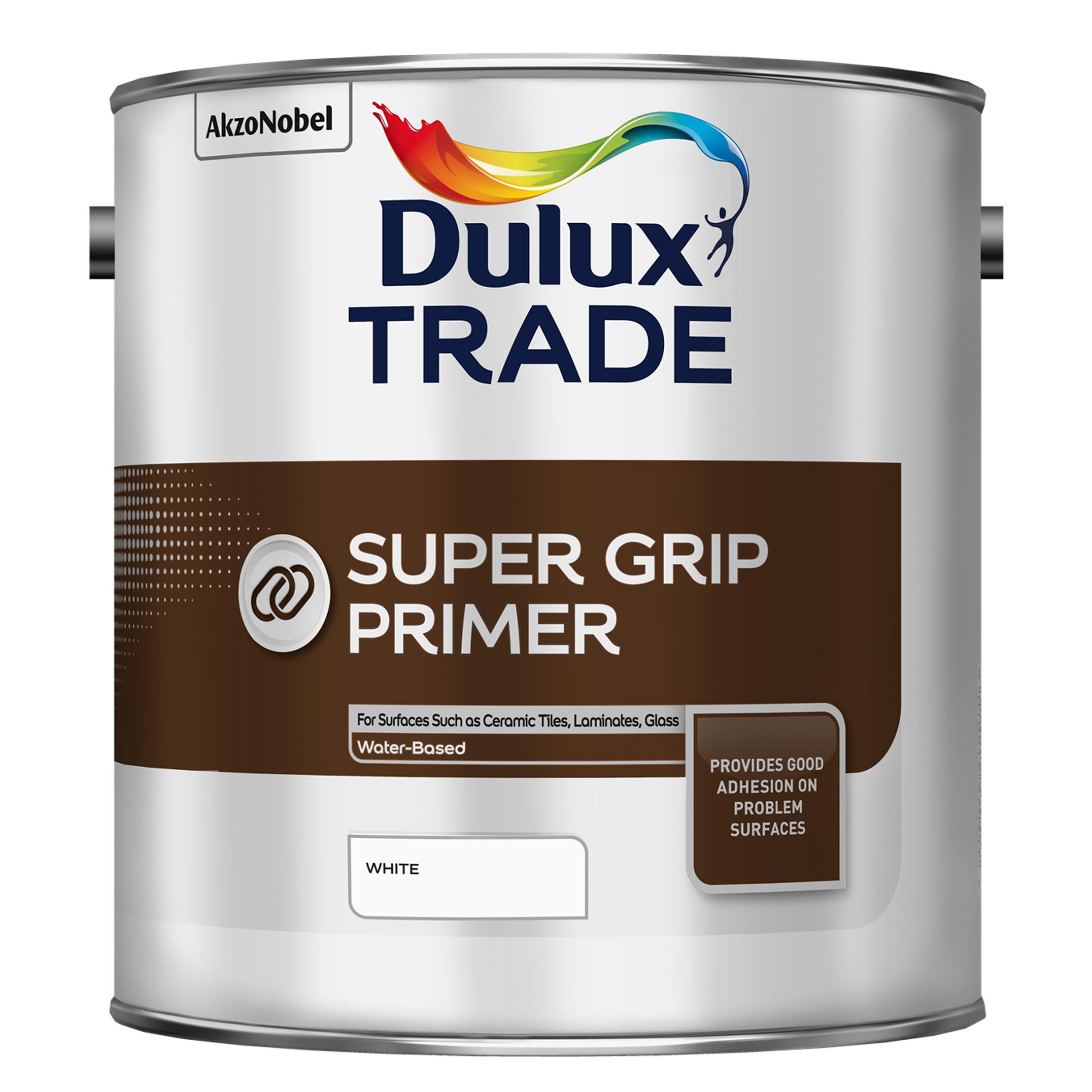 Грунтовка для сложных поверхностей Dulux Super Grip primer (белая) 3 л