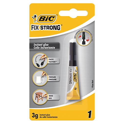 Клей сильной фиксации BIC Fix Strong 3 г.