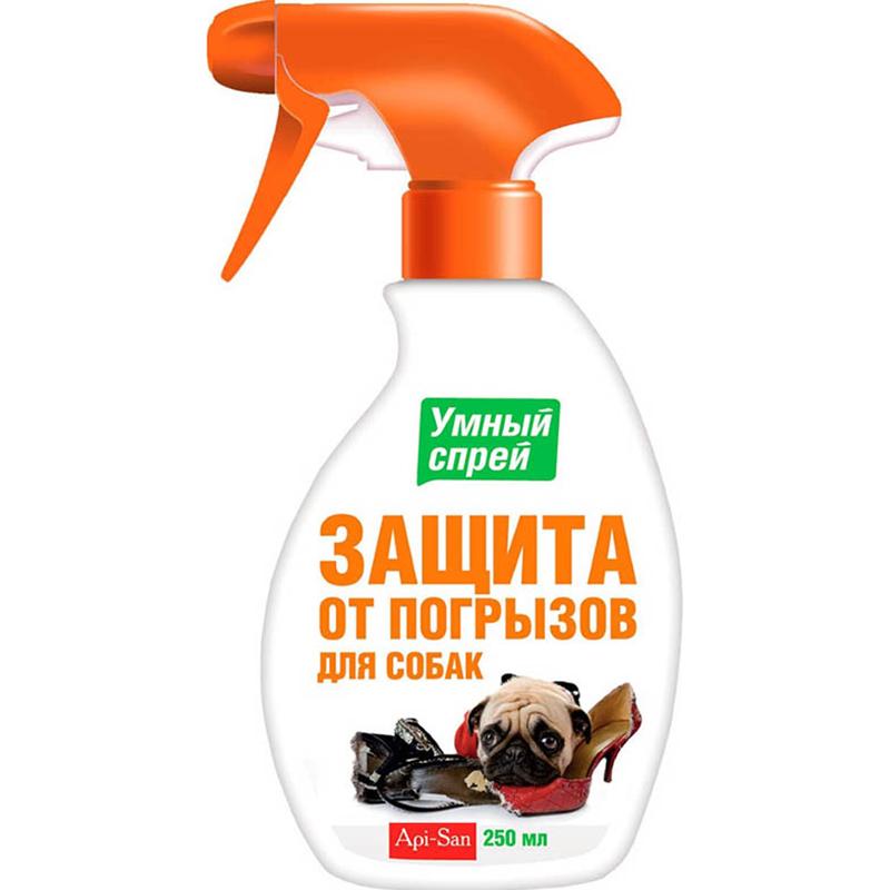 Купить Умный спрей для собак Api-san Защита от погрызов 200 мл, средство от царапания