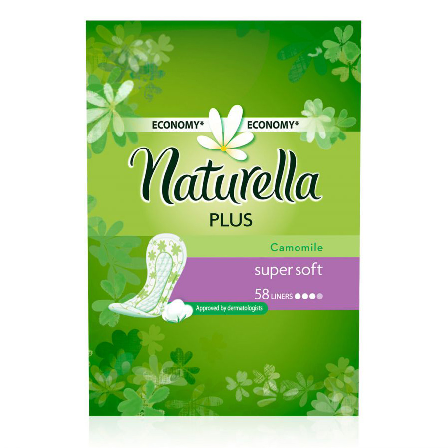 Прокладки Naturella Camomile plus 58 шт