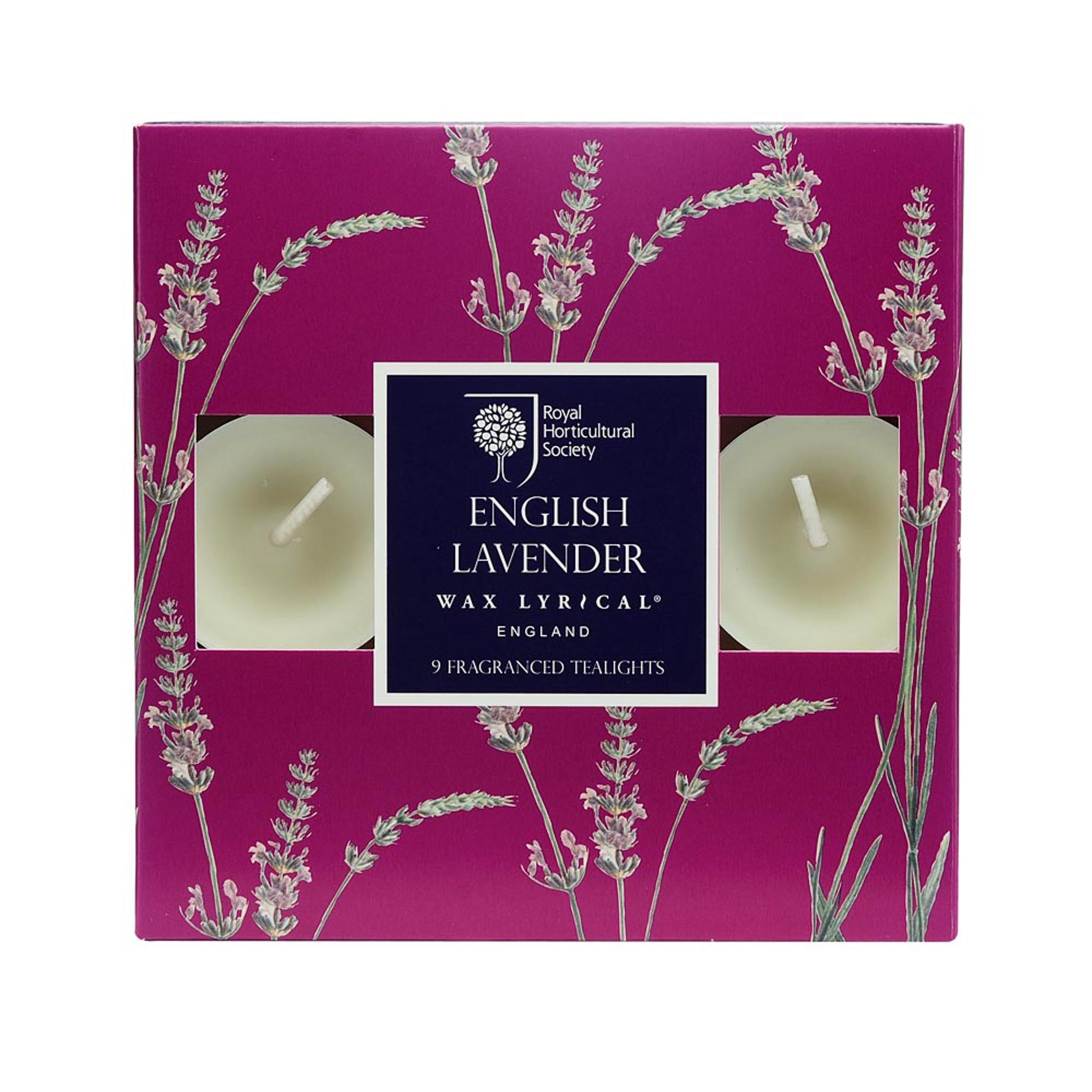 Купить Набор ароматических чайных свечей Цветущая лаванда, Wax Lyrical, набор свечей, Великобритания