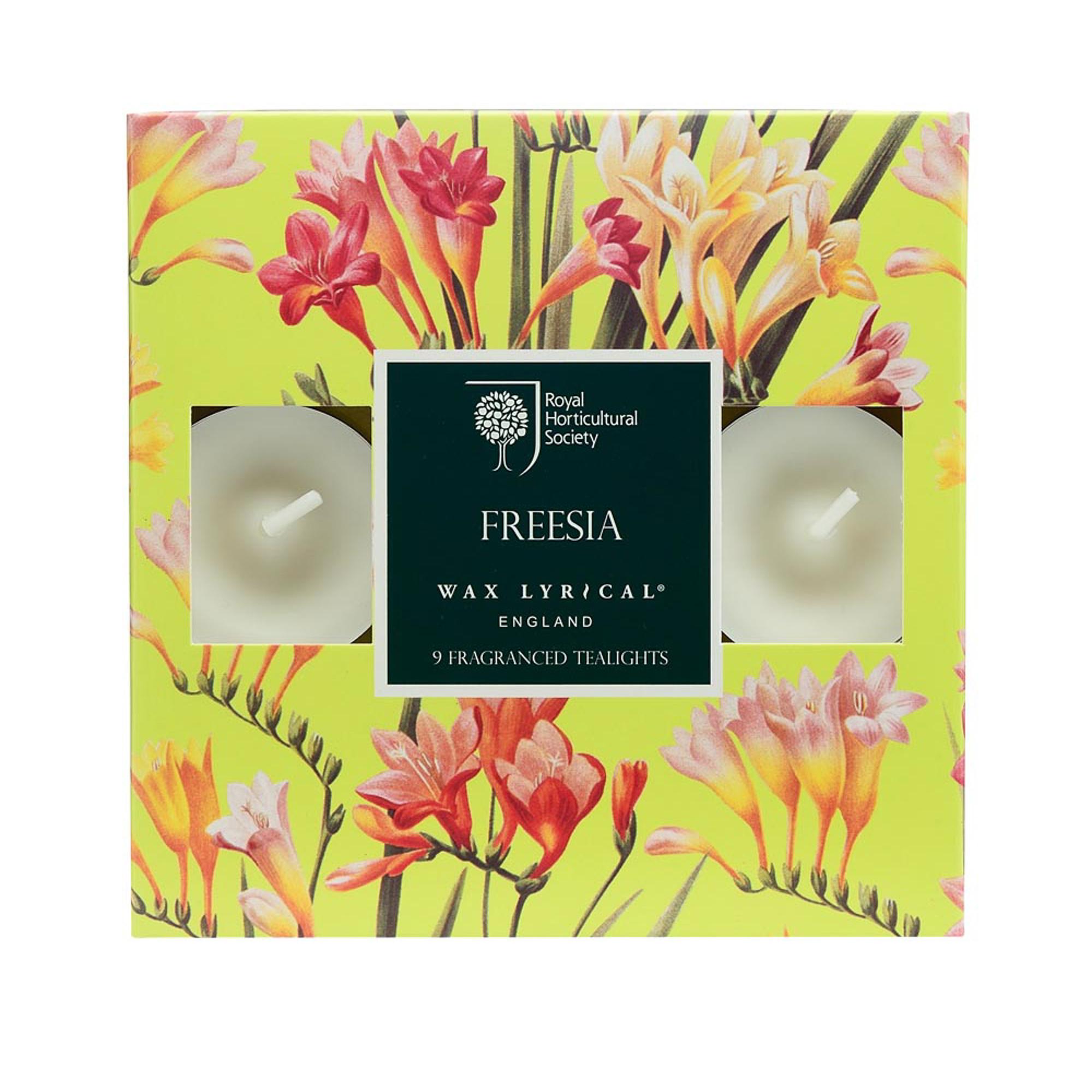 Купить Набор ароматических чайных свечей Цветущая фрезия, Wax Lyrical, набор свечей, Великобритания