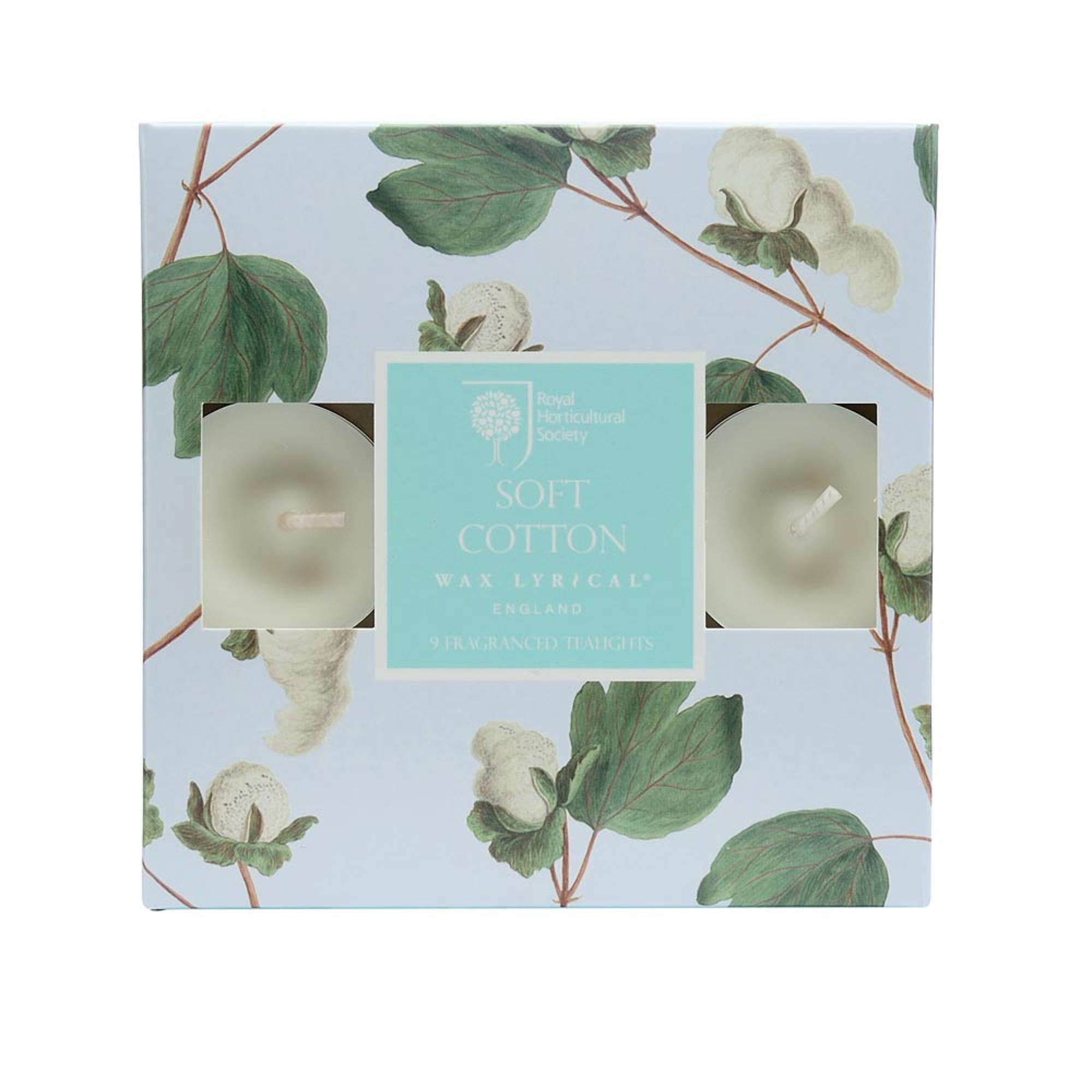 Купить Набор ароматических чайных свечей Цветущий хлопок, Wax Lyrical, набор свечей, Великобритания