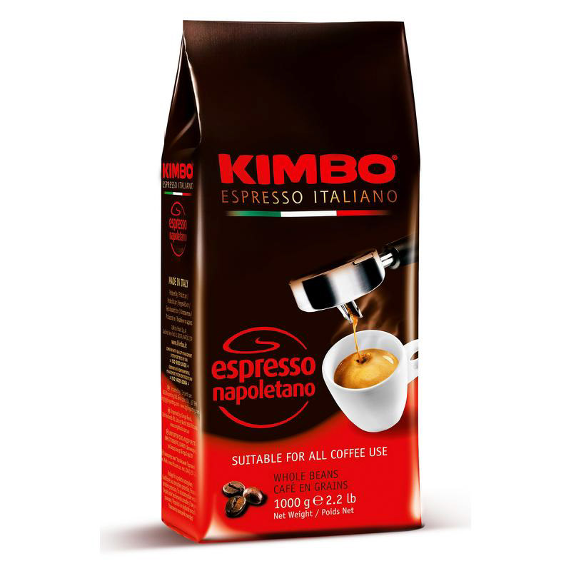 Кофе в зернах Kimbo Espresso Napoletano 1 кг кофе в зернах kimbo espresso bar prestige 1000