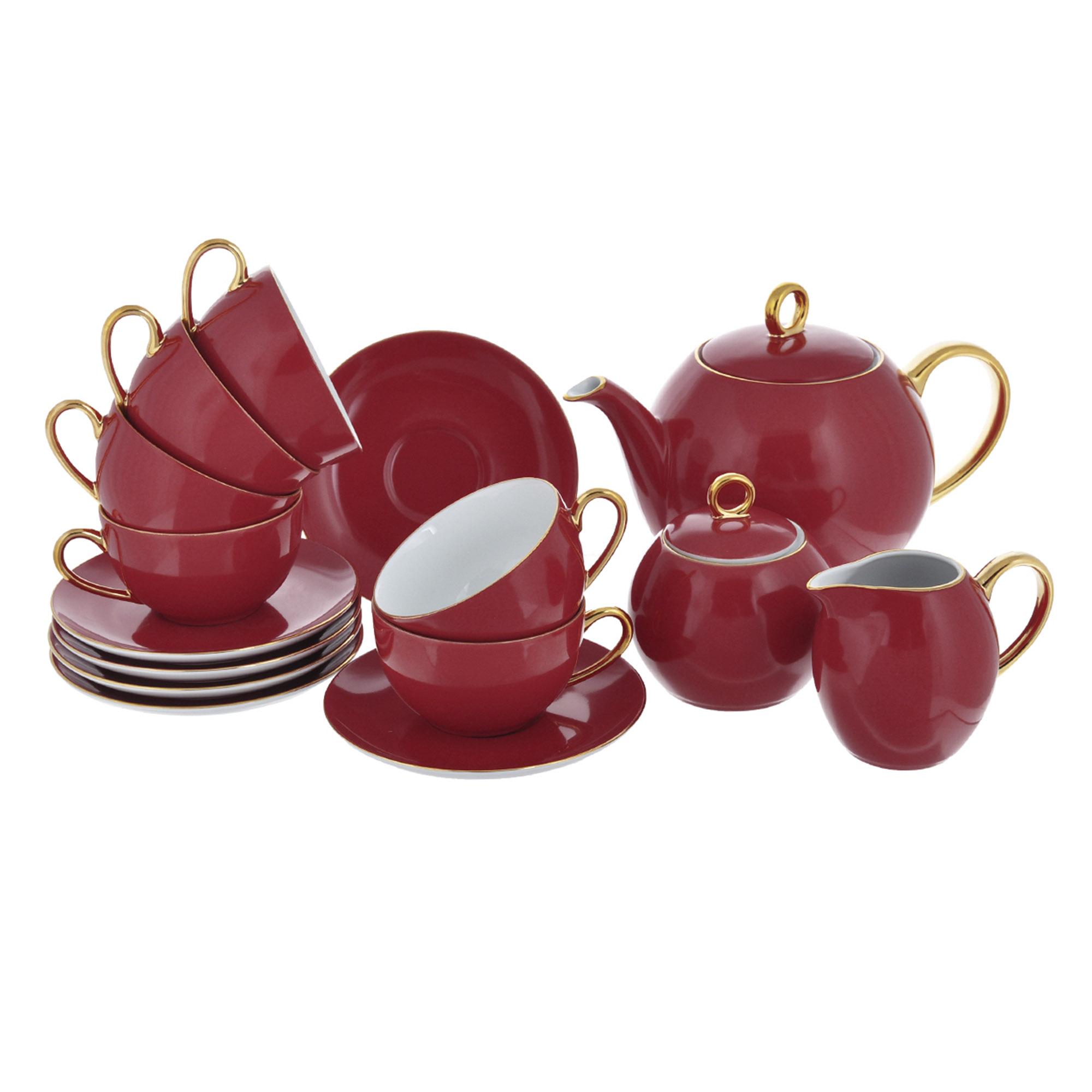 Сервиз чайный Yves De La Rosiere Monalisa 15 предметов 3125 сервиз столовый la rose des sables 6 персон 25 предметов princier platine