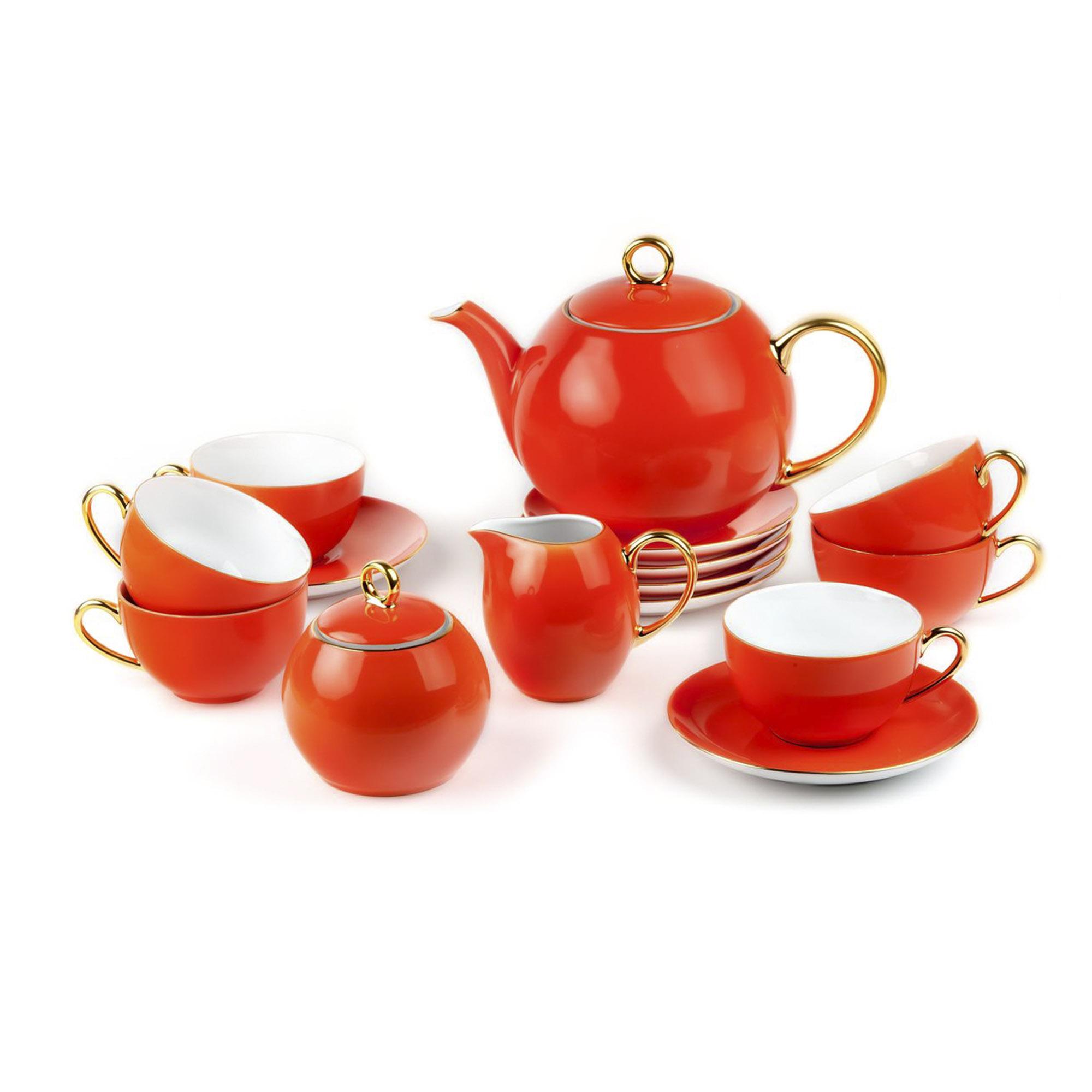 Сервиз чайный Yves De La Rosiere Monalisa 15 предметов 3127 сервиз столовый la rose des sables 6 персон 25 предметов princier platine