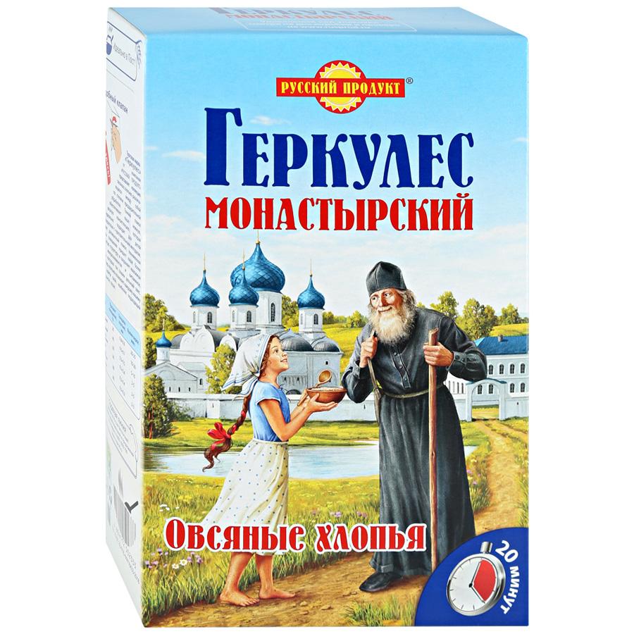 Хлопья овсяные Русский продукт Геркулес Монастырский 500 г