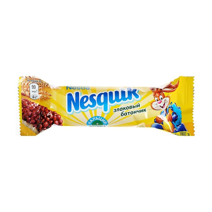 Батончик Nesquik с цельными злаками шоколадный 25 г.