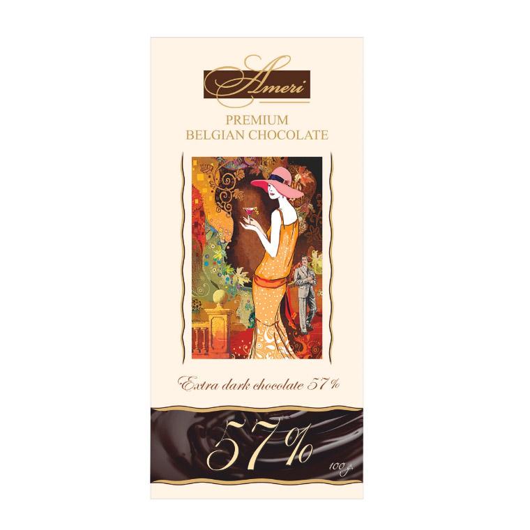 шоколад ameri горький 57% с лимоном и черным перцем 100 г Шоколад Ameri Горький 57% 100 г