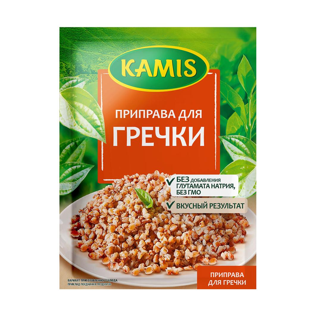 Фото - Приправа Kamis для гречки 20 г kamis приправа тосканский лосось 4х18 г
