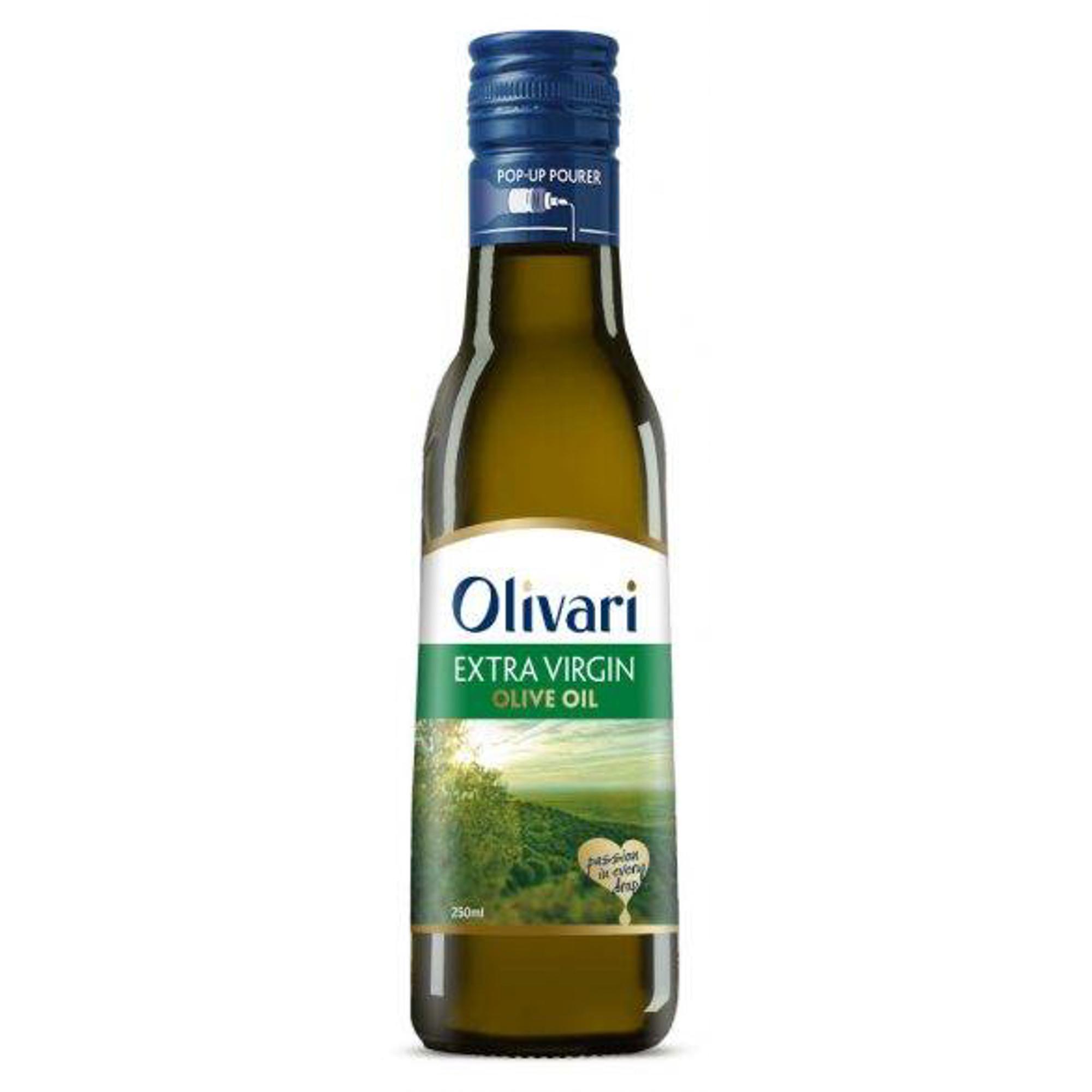 Масло оливковое Olivari Extra Virgin 250 мл korvel оливковое масло extra virgin греция данае 250 мл