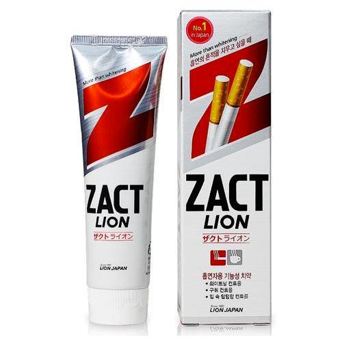 Паста зубная отбеливающая Zact Lion 150 г