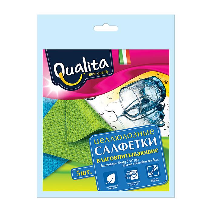 Салфетка влаговпитывающая Qualita 5 шт
