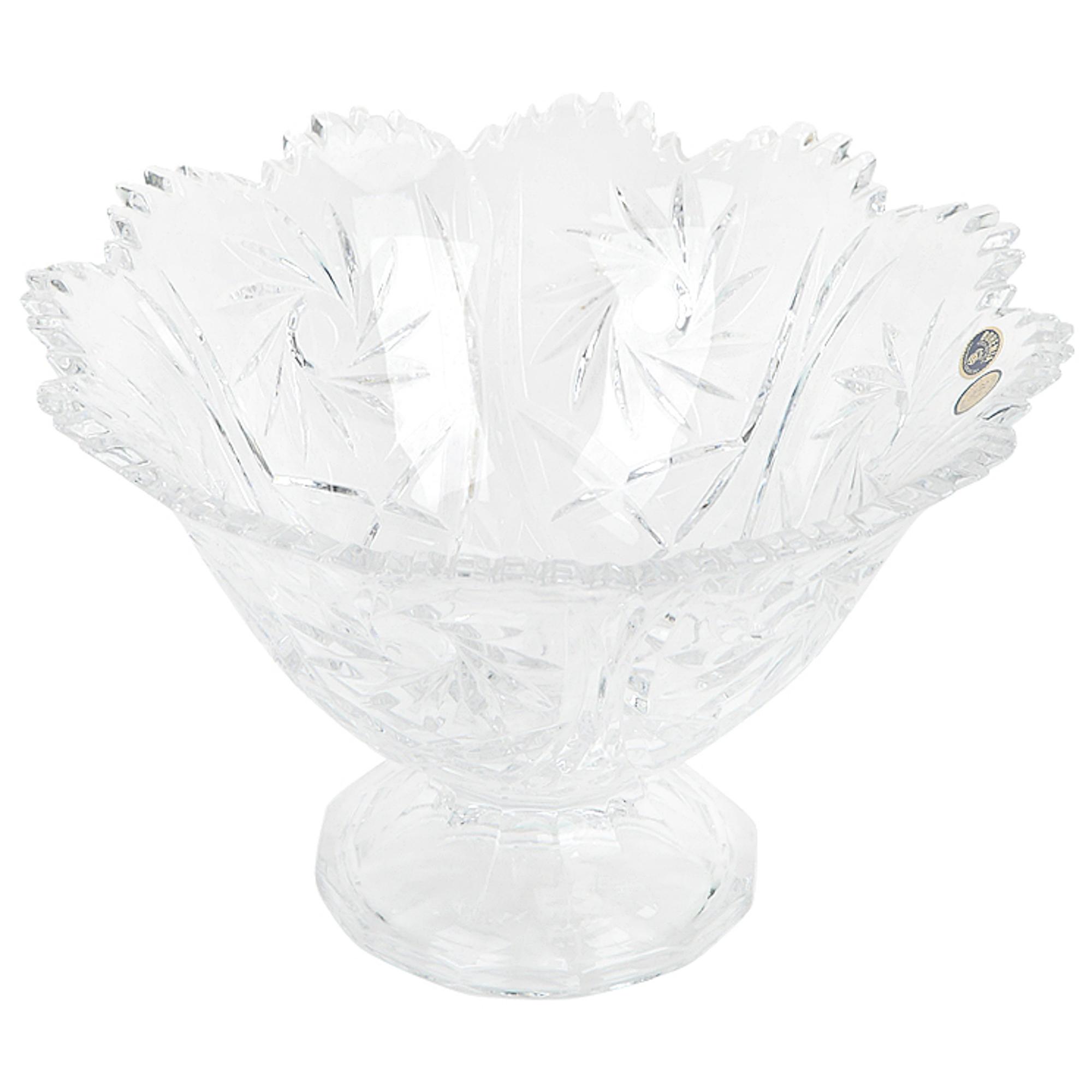 Фруктовница Crystal Bohemia Pinwheel 25,5 см