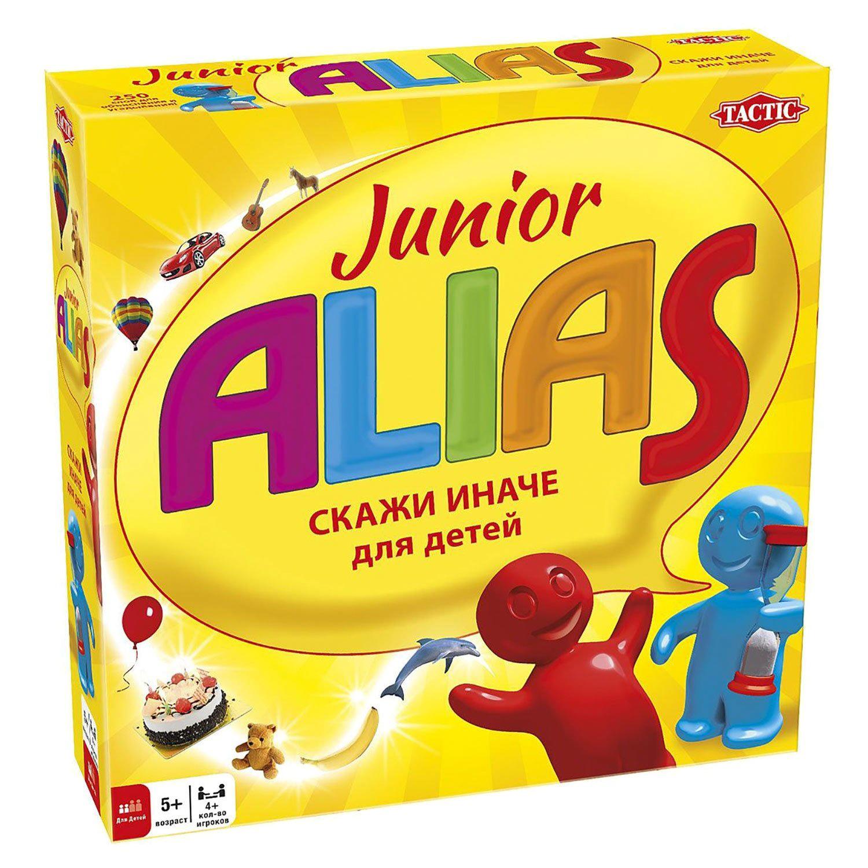 Настольная игра Tactic games Alias Скажи иначе для малышей недорого