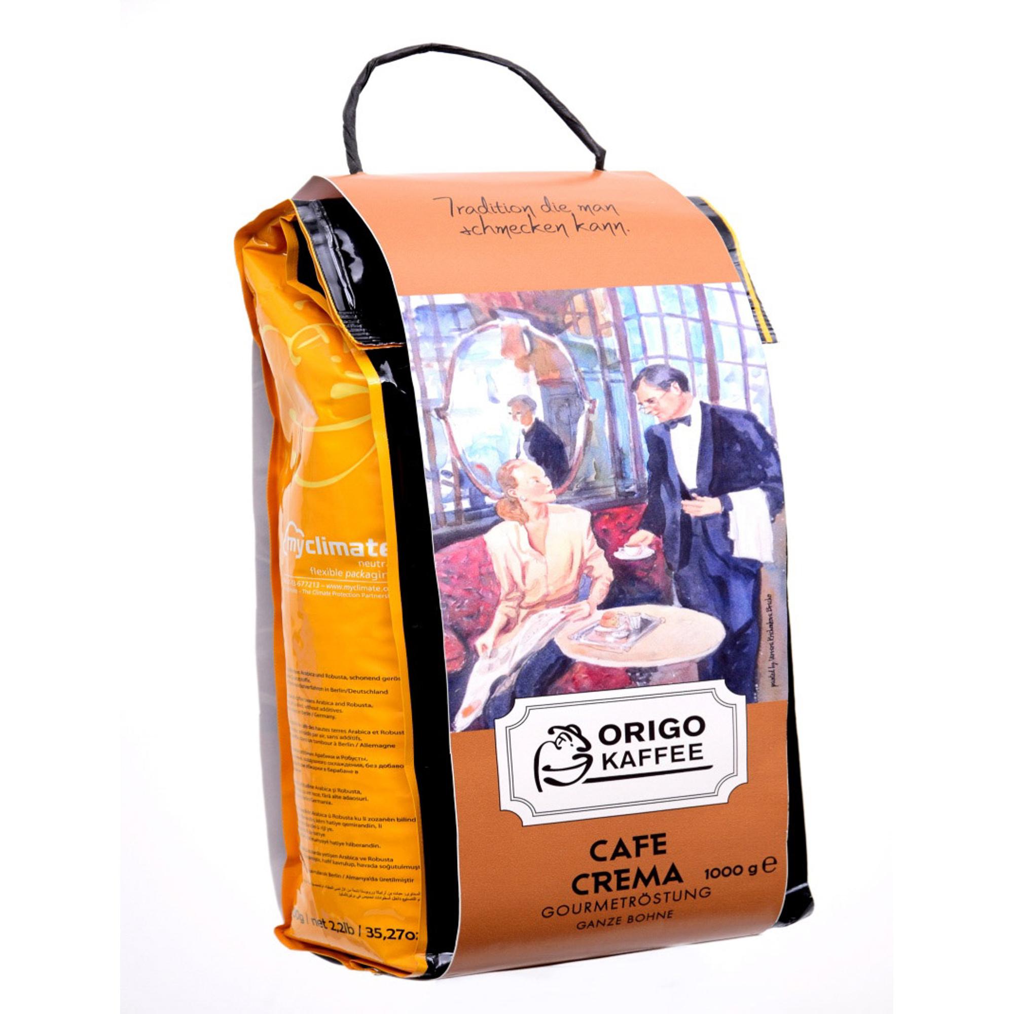 Кофе в зернах ORIGO Cafe Crema 1 кг