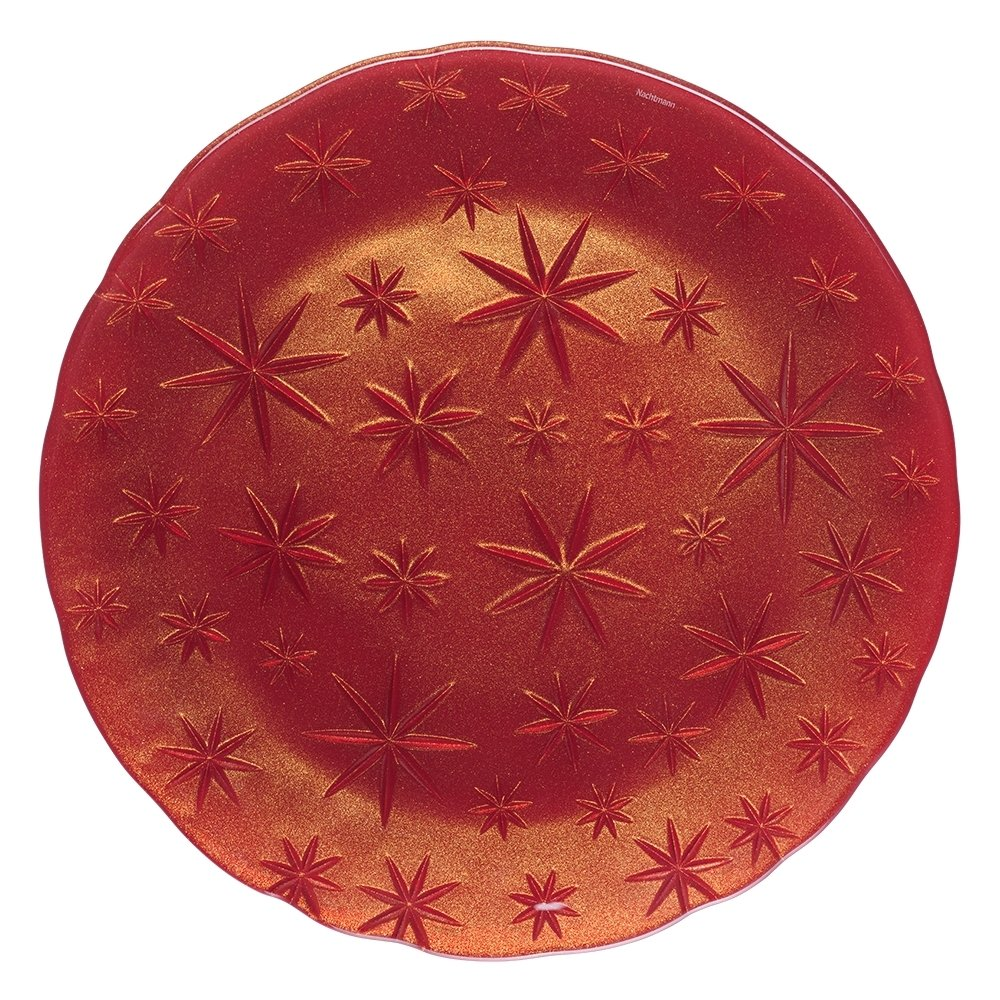 Блюдо Nachtmann Stars красное 32 см