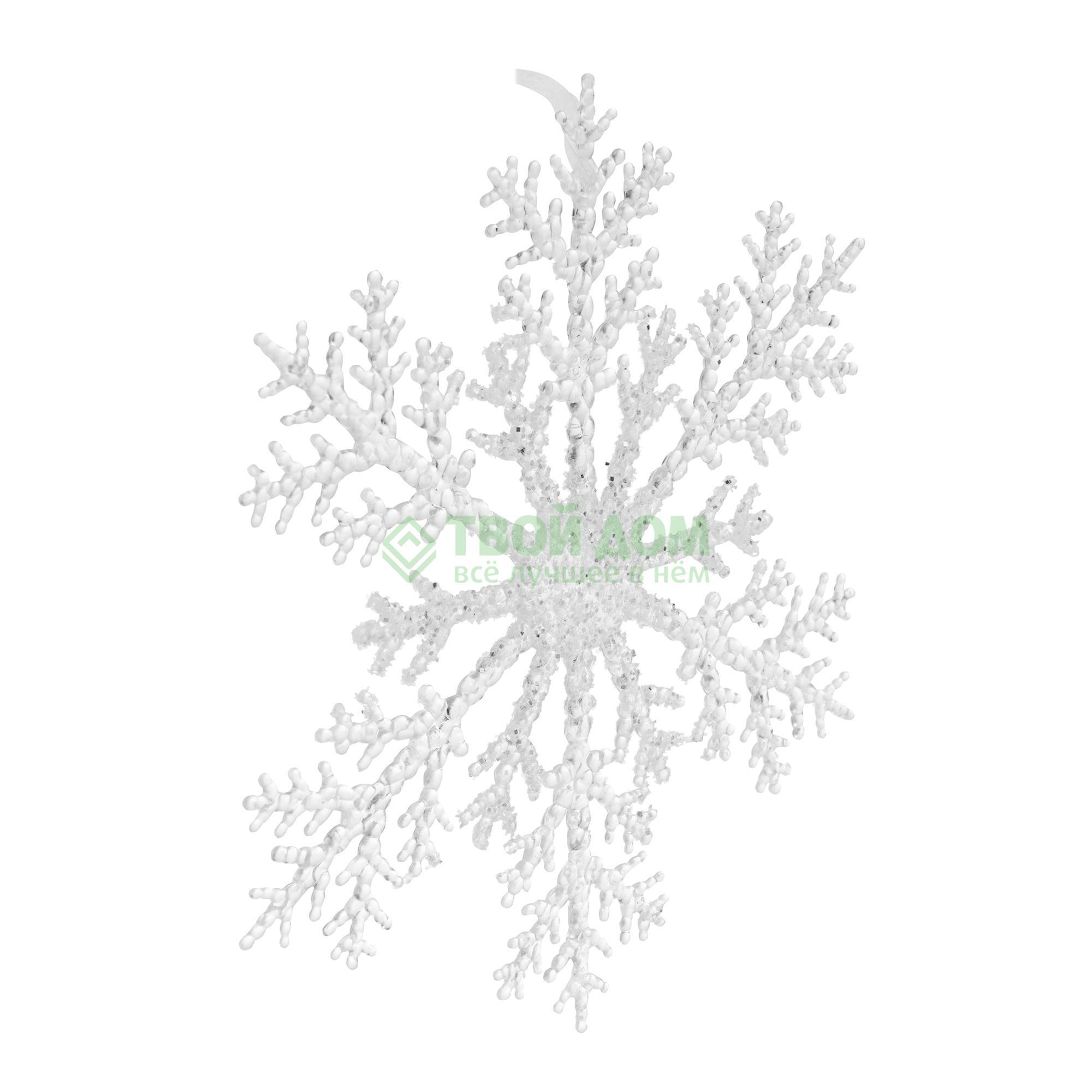 Игрушка KaemingK Снежинка 21см (515419)