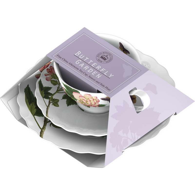 Фото - Набор чайный 3 предмета Баттерфляй пурпур Creative tops 5151437 набор чайный гималайские цветы 3 предмета churchill himf00081
