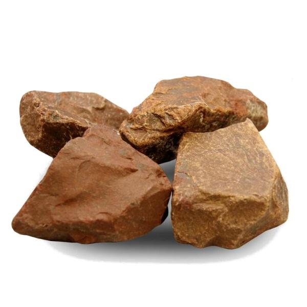 Камень для бани и сауны Огненный Камень Яшма 10 кг фото